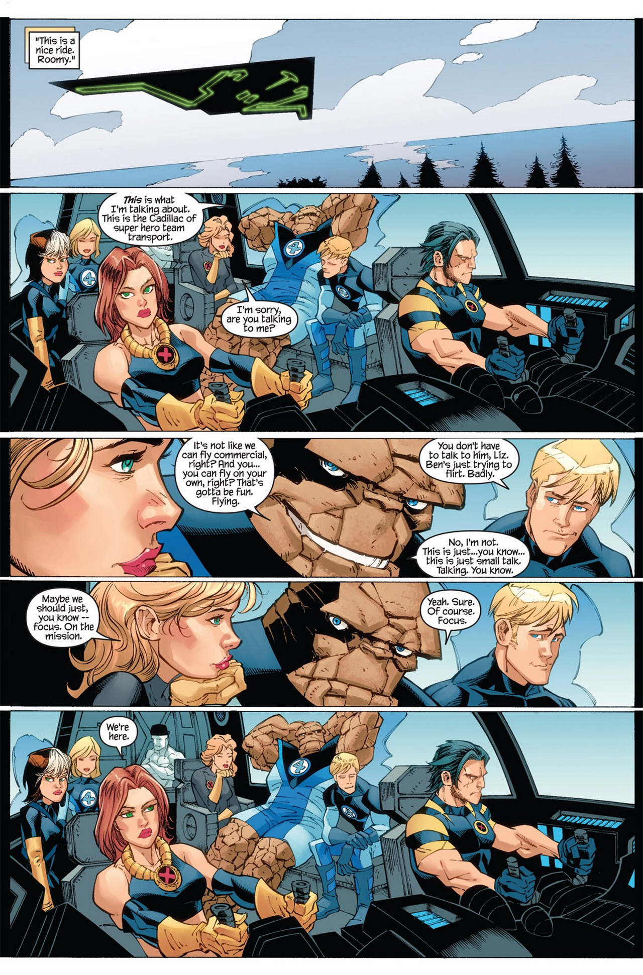 Read online Ultimate X-Men/Ultimate Fantastic Four Annual comic -  Issue # Full - 25