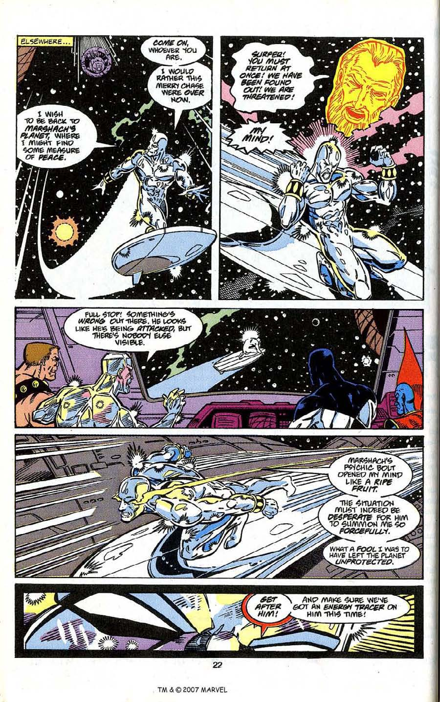 Read online Silver Surfer (1987) comic -  Issue # _Annual 4 - 24