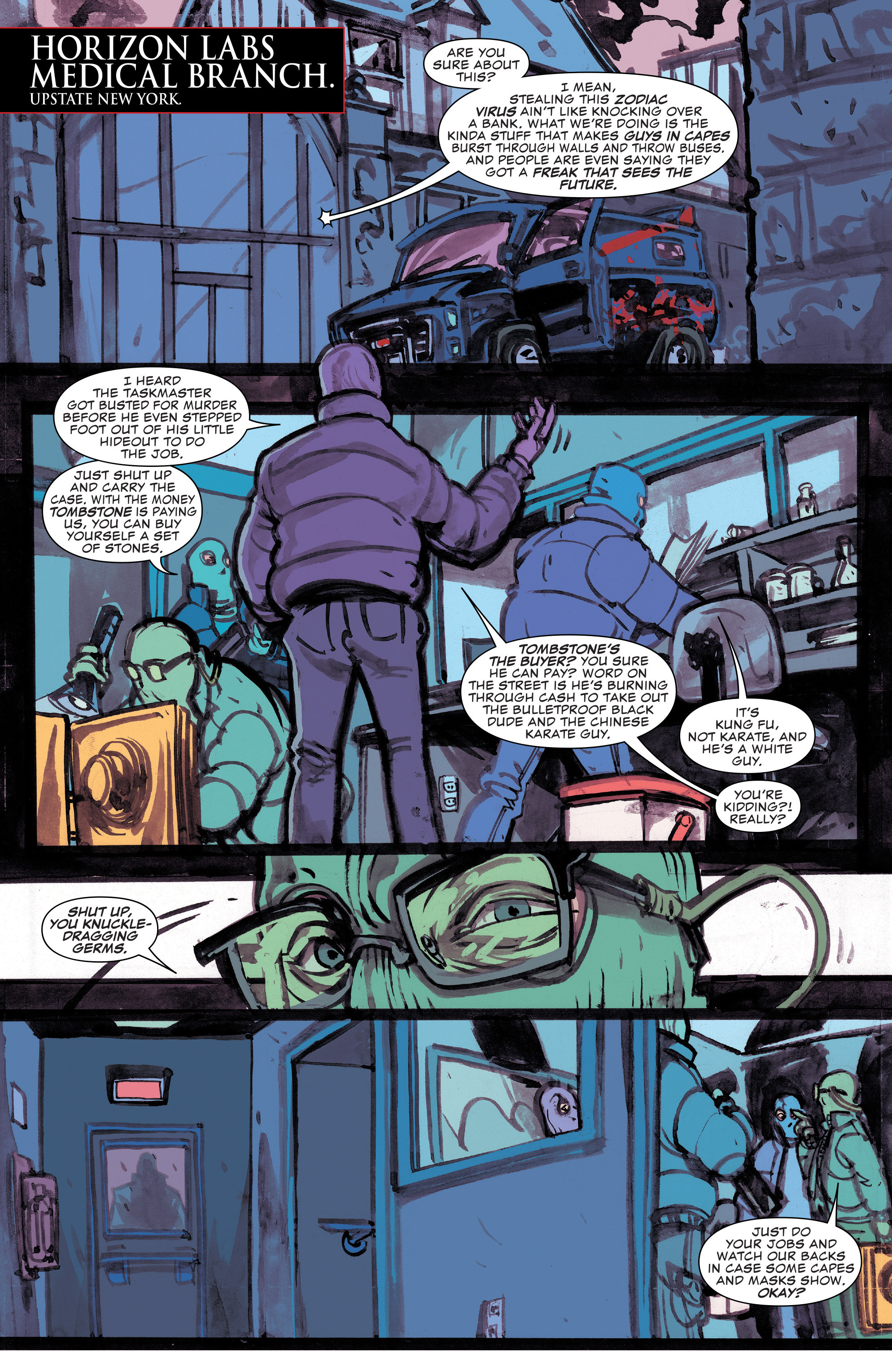 Read online Civil War II: Choosing Sides comic -  Issue #4 - 3