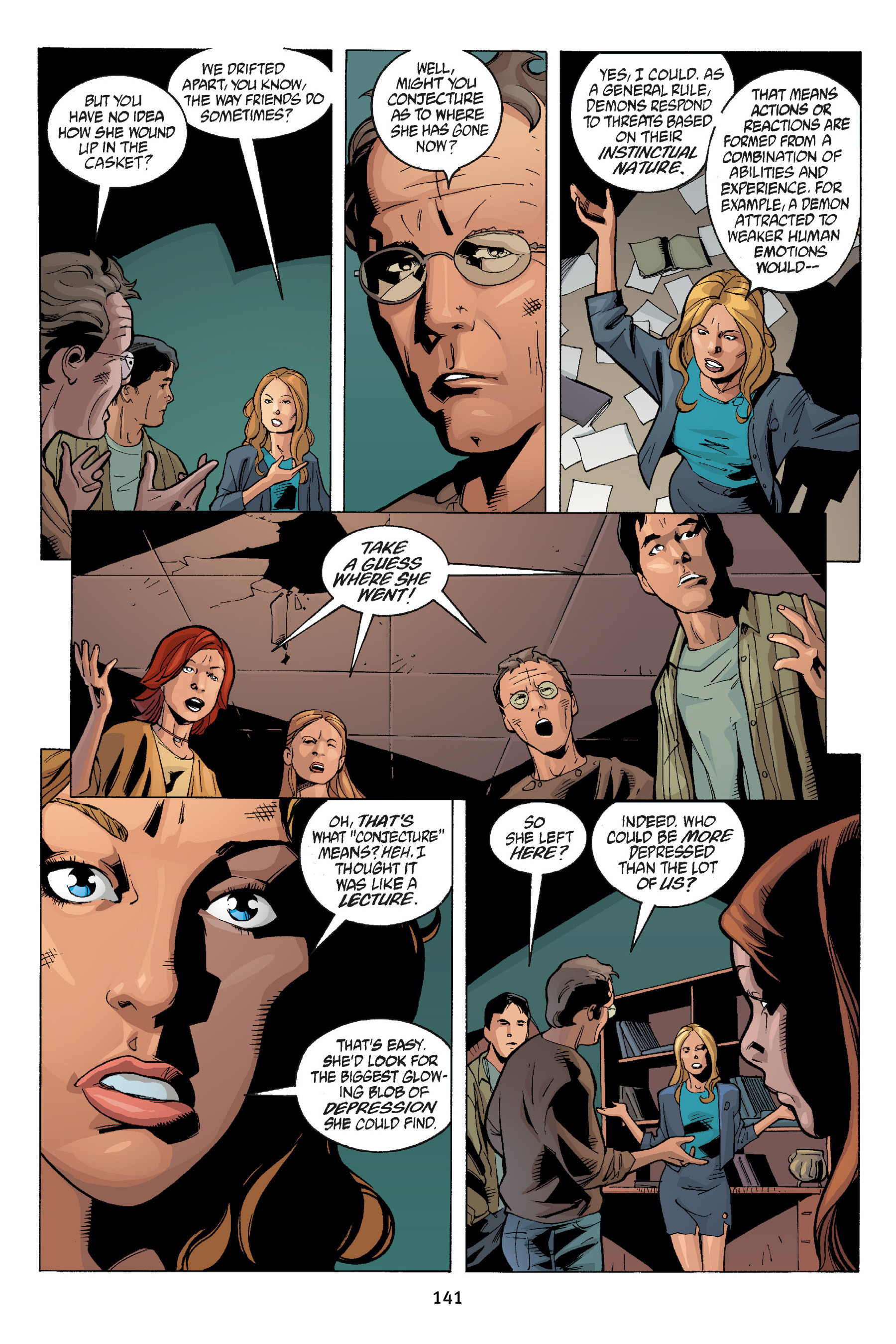 Read online Buffy the Vampire Slayer: Omnibus comic -  Issue # TPB 7 - 141