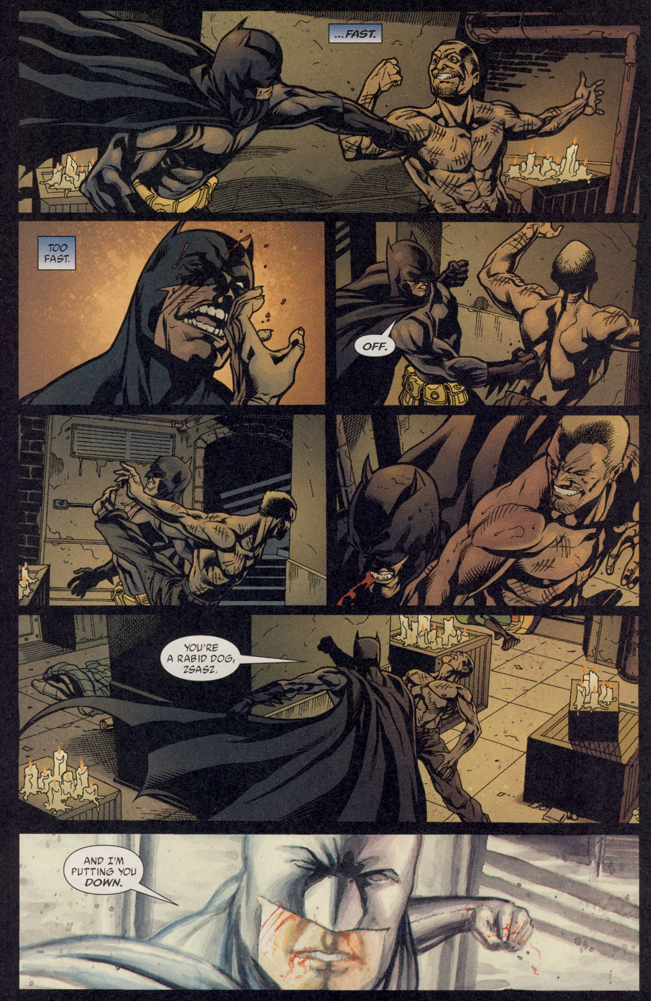 Read online Batman War Drums comic -  Issue # TPB - 193