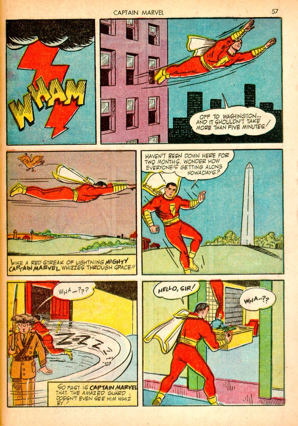 Captain Marvel Adventures issue 10 - Page 57