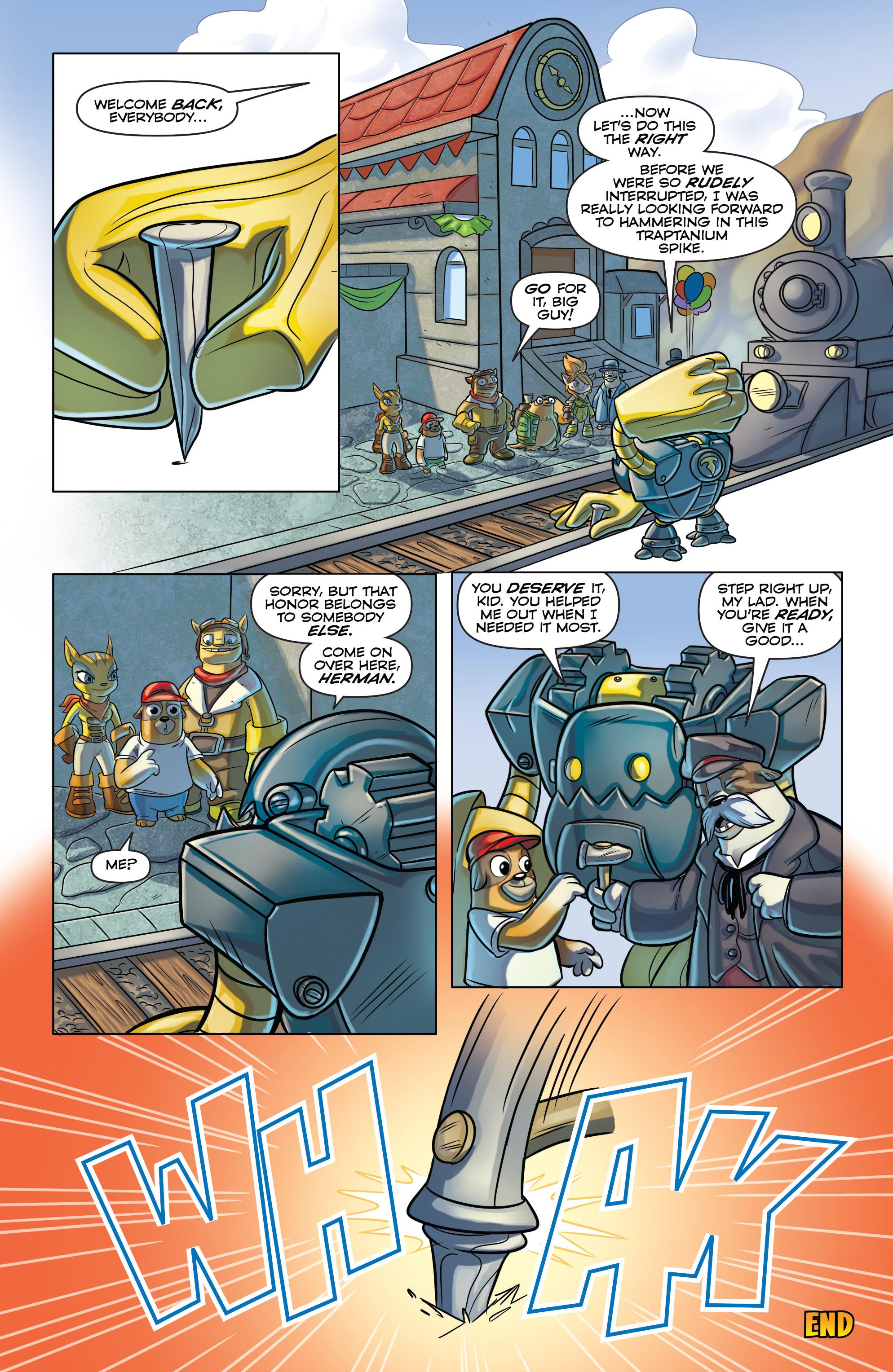 Read online Skylanders comic -  Issue #6 - 18