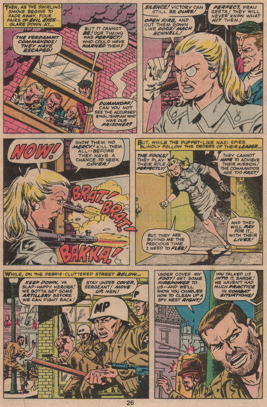 Read online Sgt. Fury comic -  Issue #142 - 28