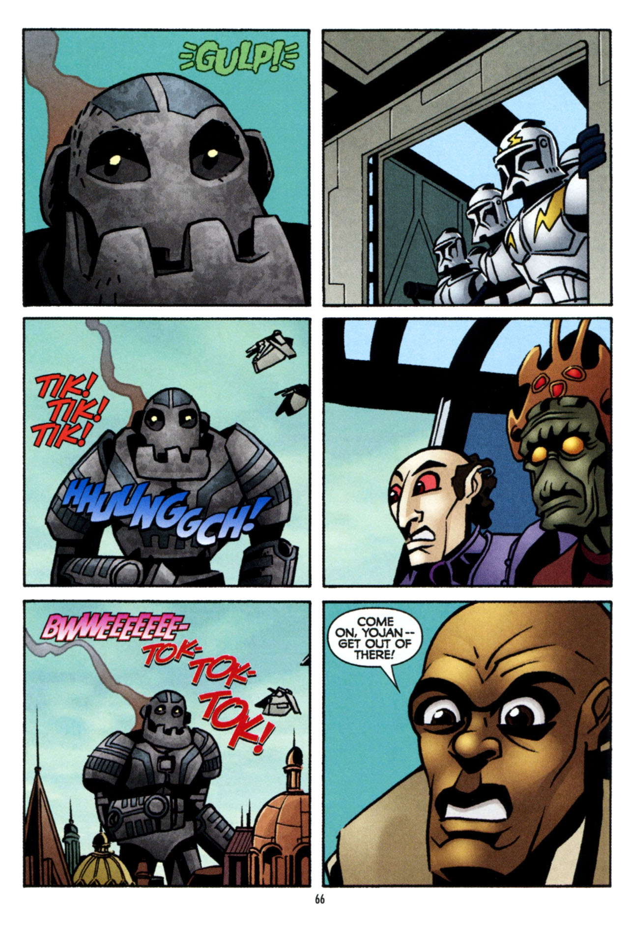 Read online Star Wars: The Clone Wars - The Colossus of Destiny comic -  Issue # Full - 66