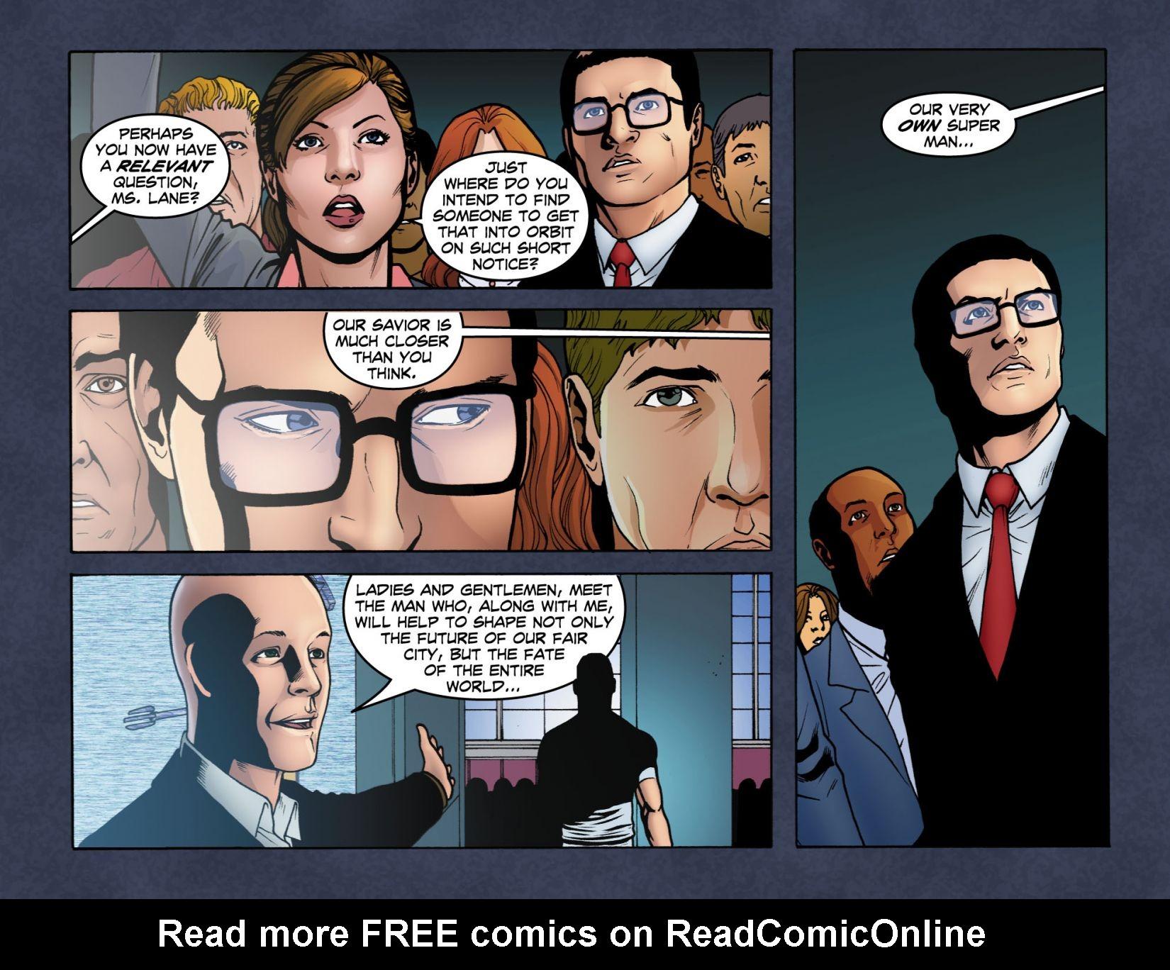 Read online Smallville: Season 11 comic -  Issue #4 - 21