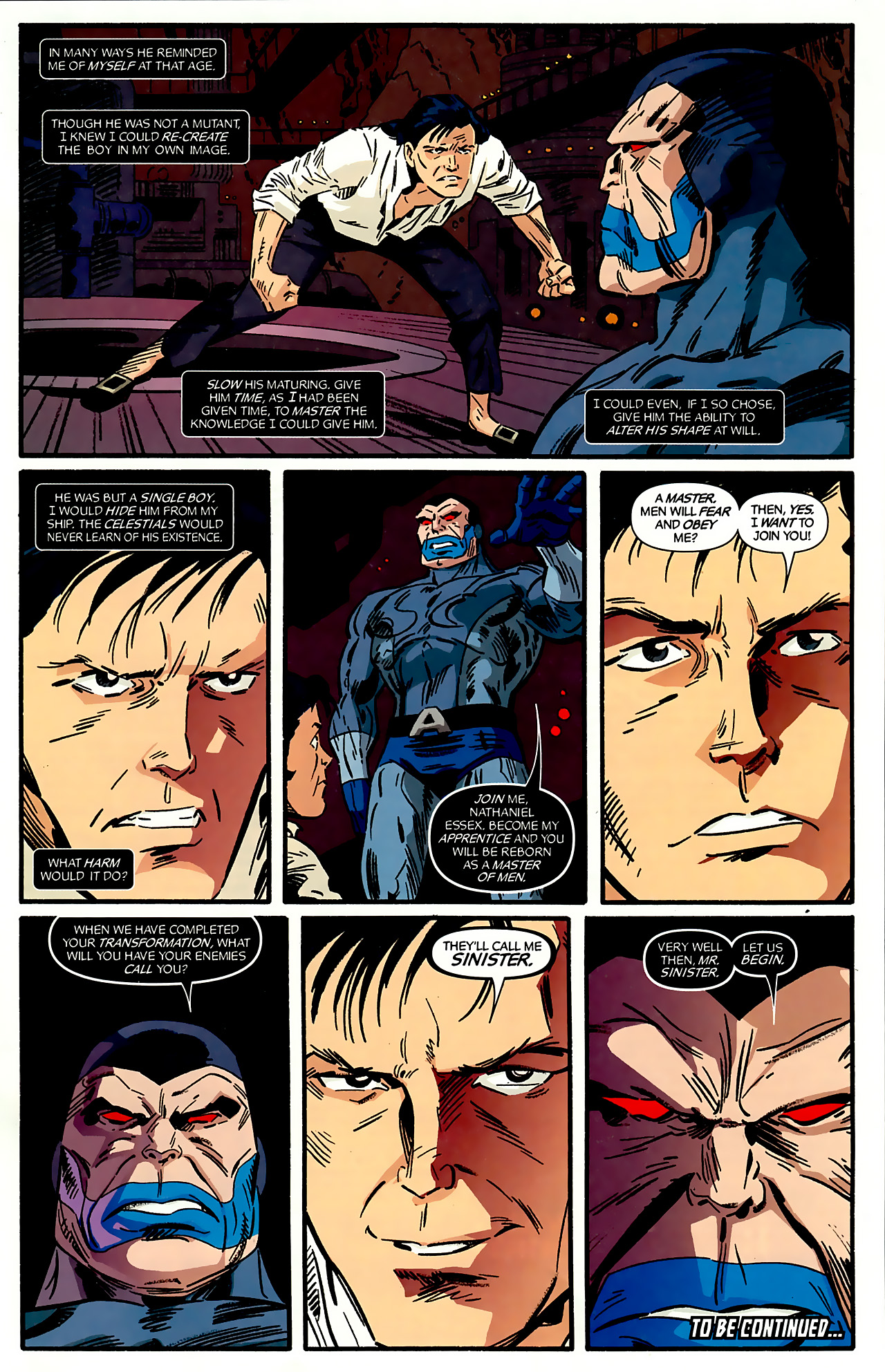 Read online X-Factor Forever comic -  Issue #3 - 21