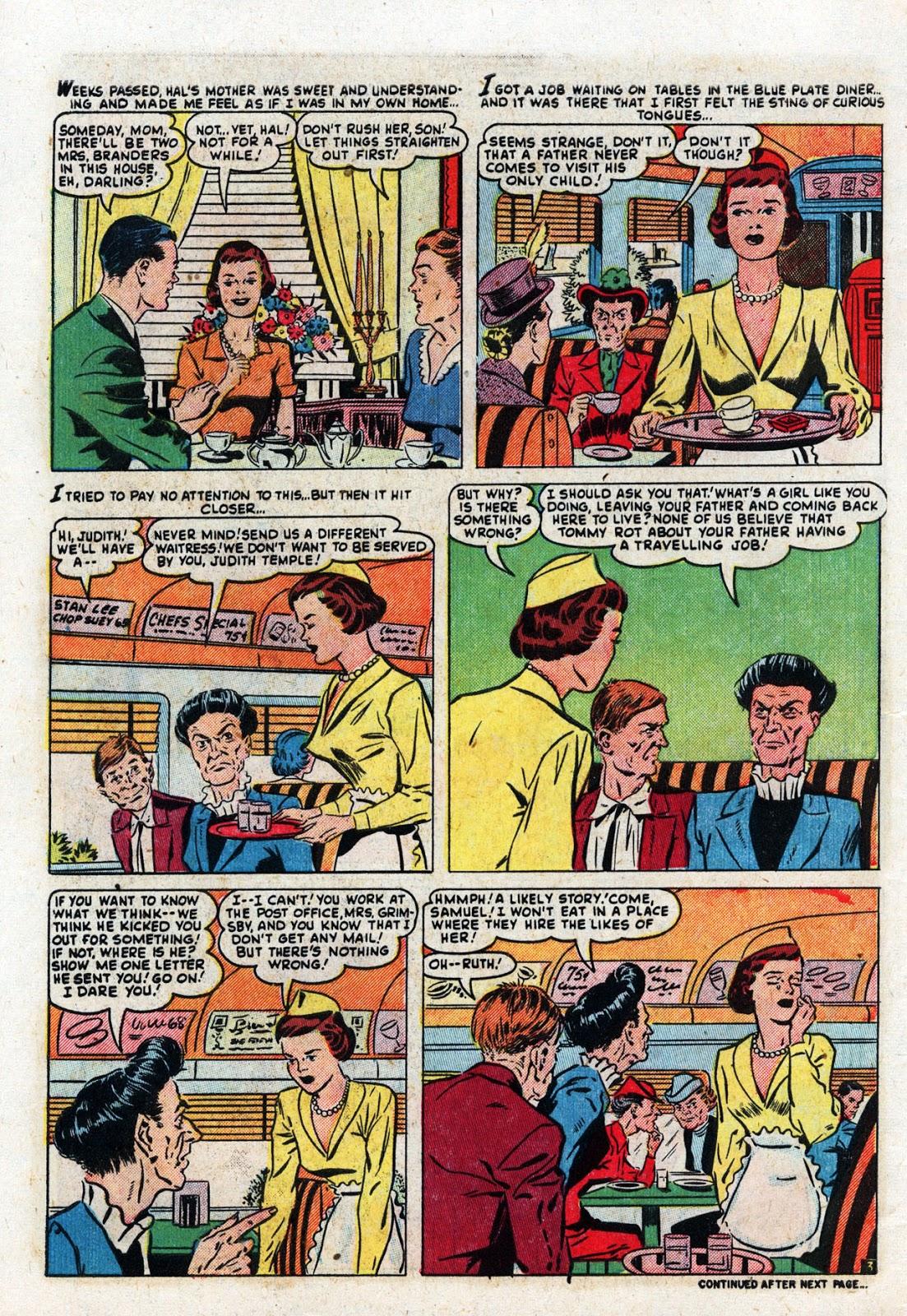 Love Romances (1949) issue 19 - Page 28