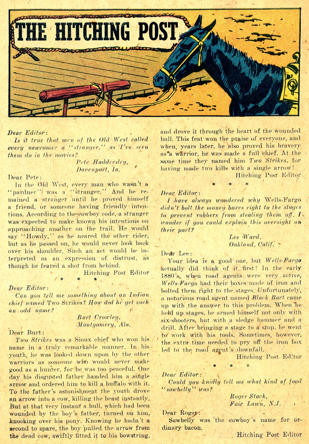 Read online All-Star Western (1951) comic -  Issue #104 - 22
