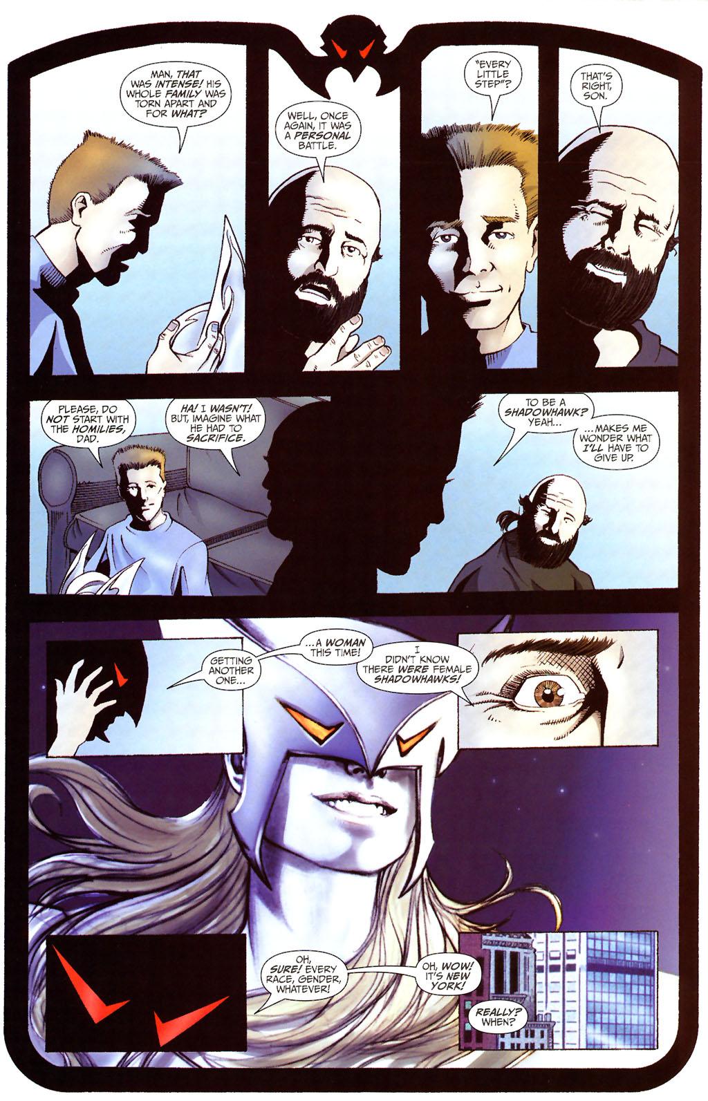 Read online ShadowHawk (2005) comic -  Issue #13 - 19