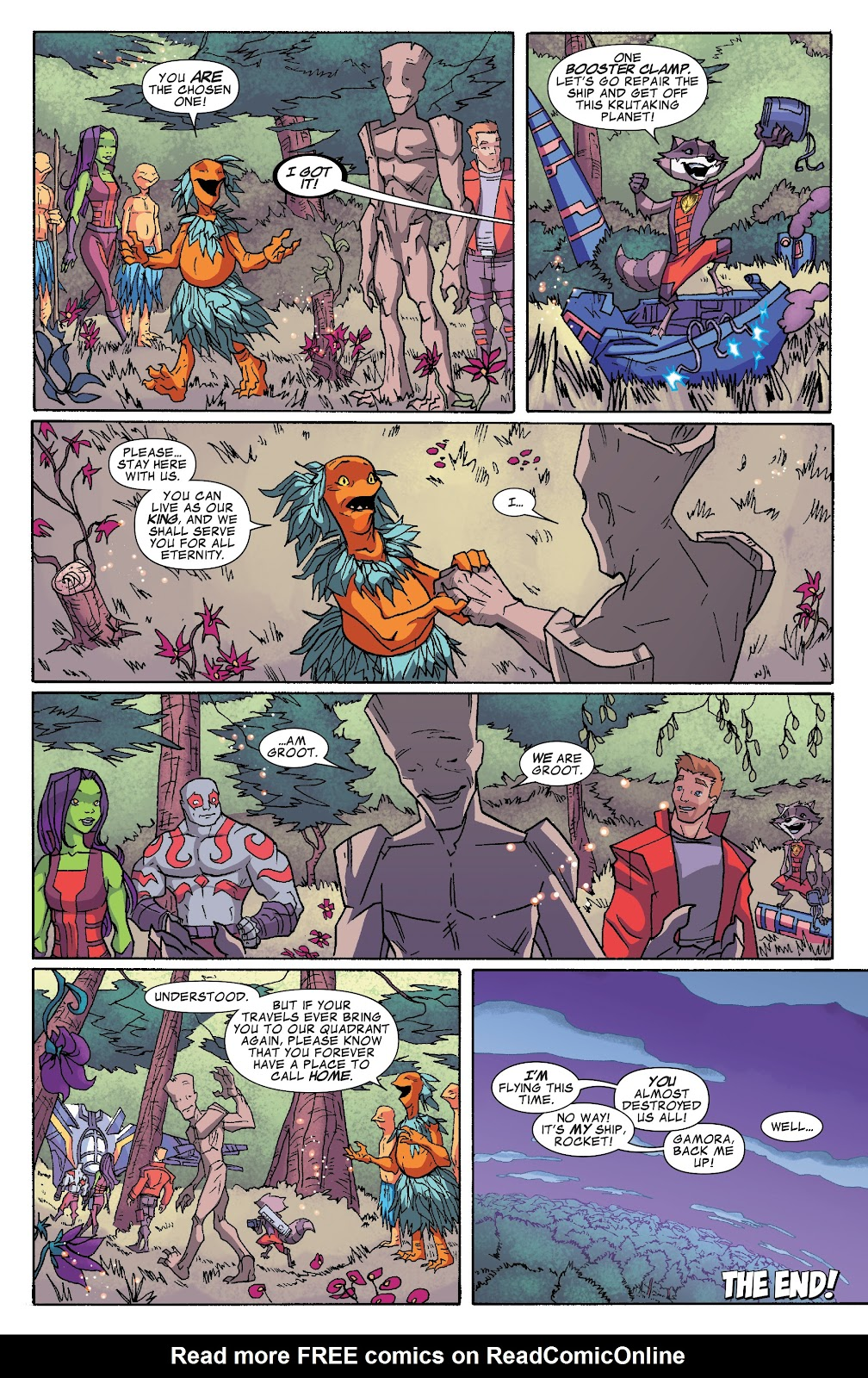 Read online Marvel Universe Guardians of the Galaxy [I] comic -  Issue #4 - 12