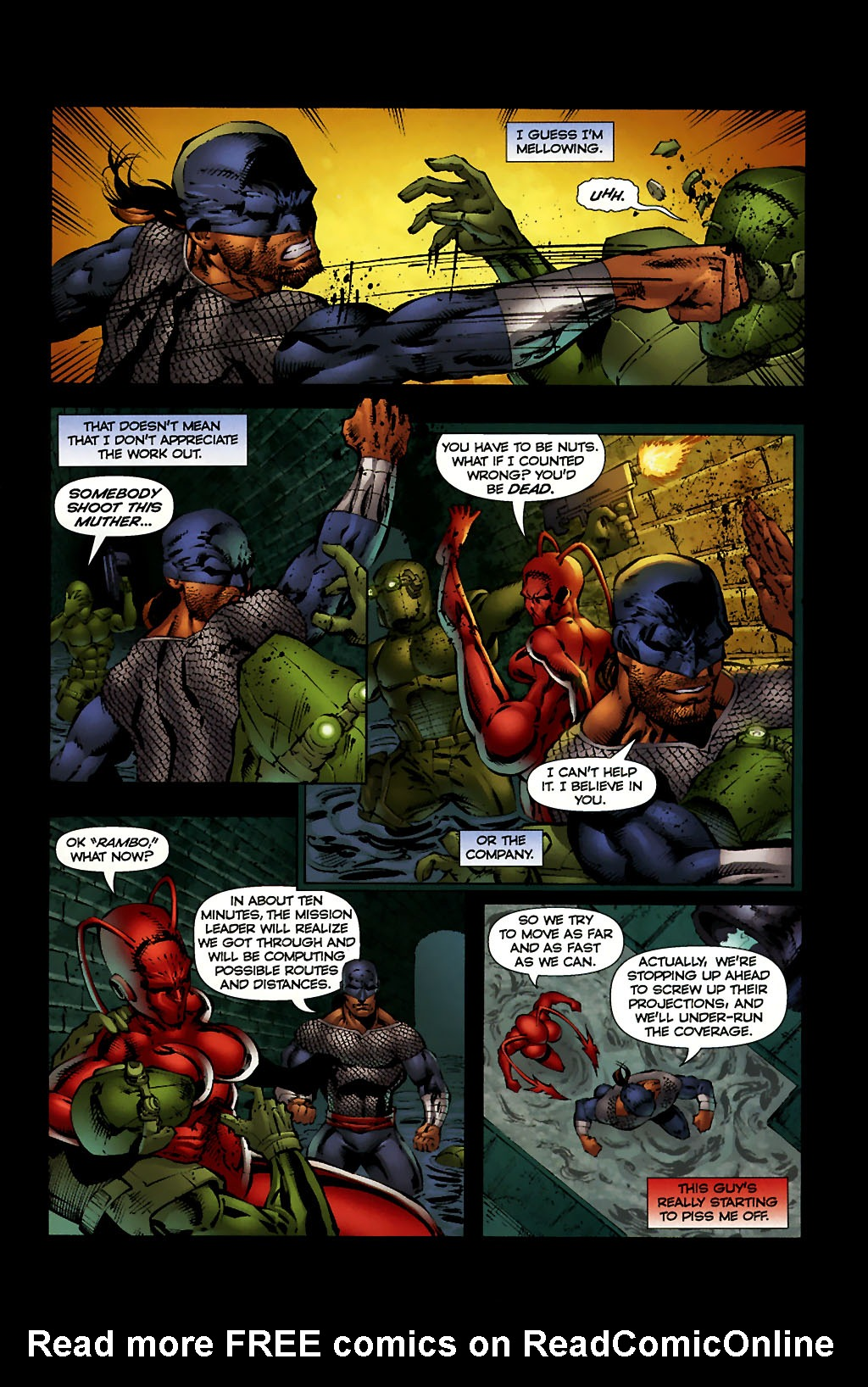 Read online Ant comic -  Issue #10 - 15