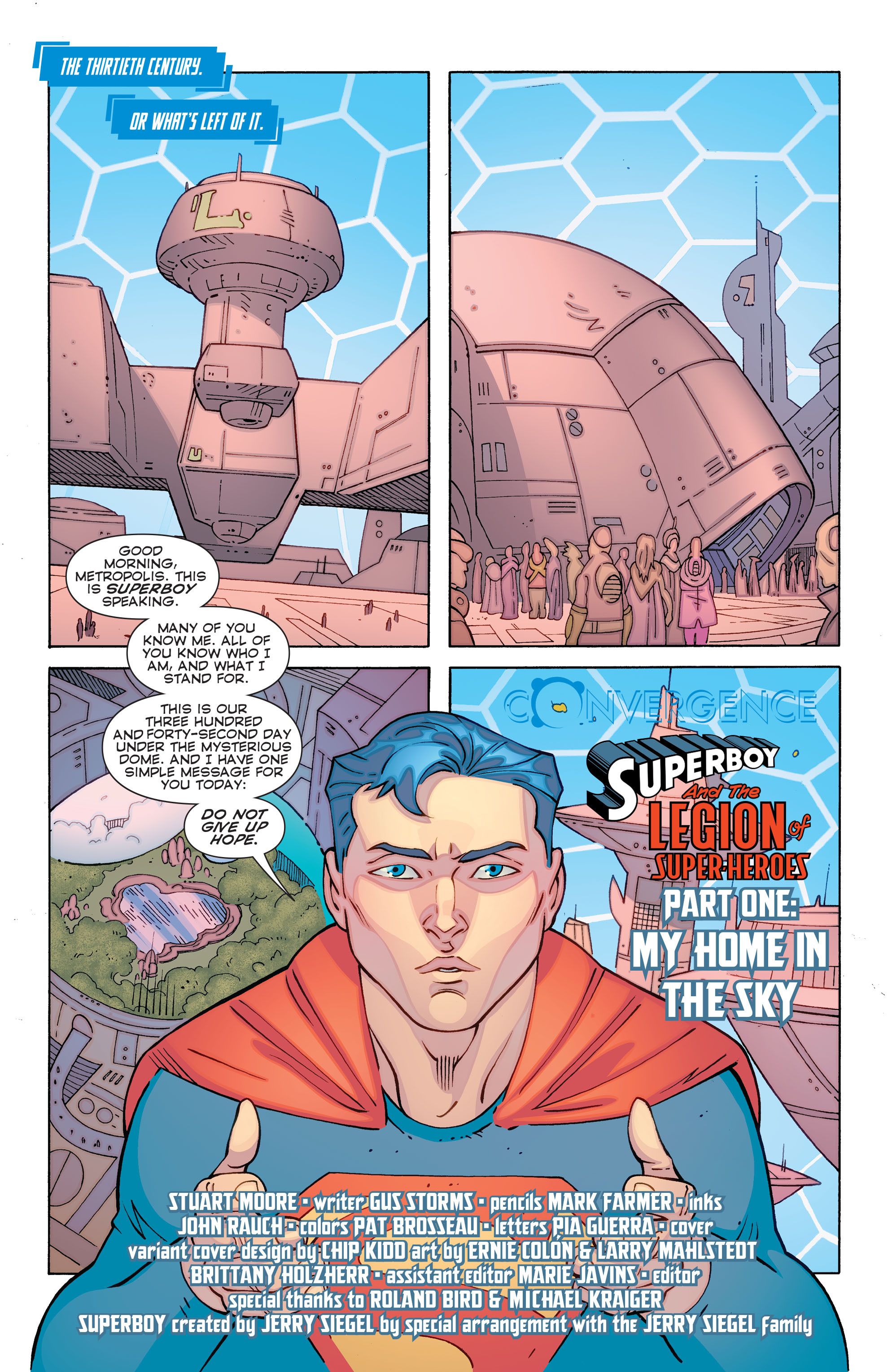 Read online Convergence Superboy and the Legion of Super-Heroes comic -  Issue #1 - 3