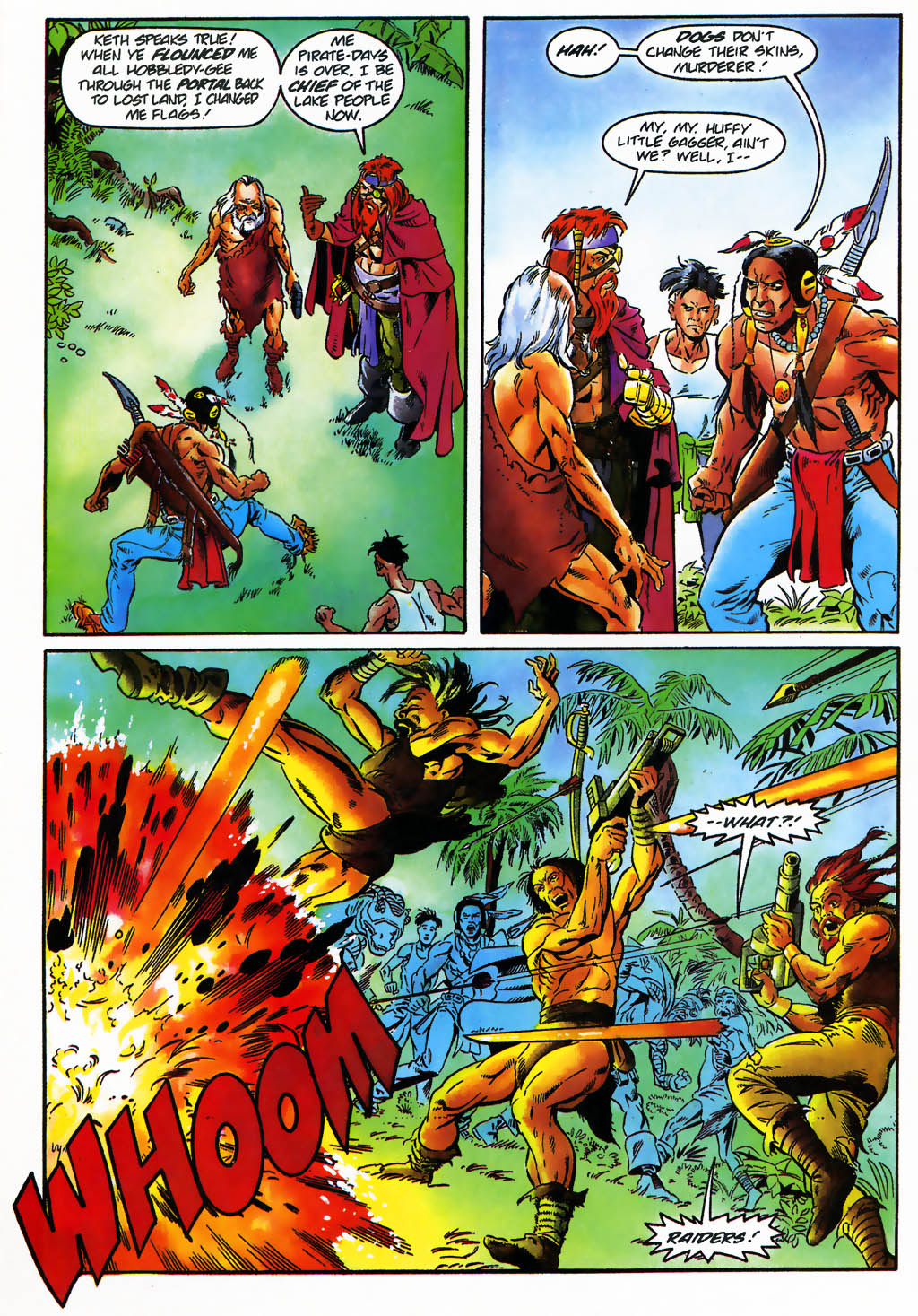 Read online Turok, Dinosaur Hunter (1993) comic -  Issue #26 - 6
