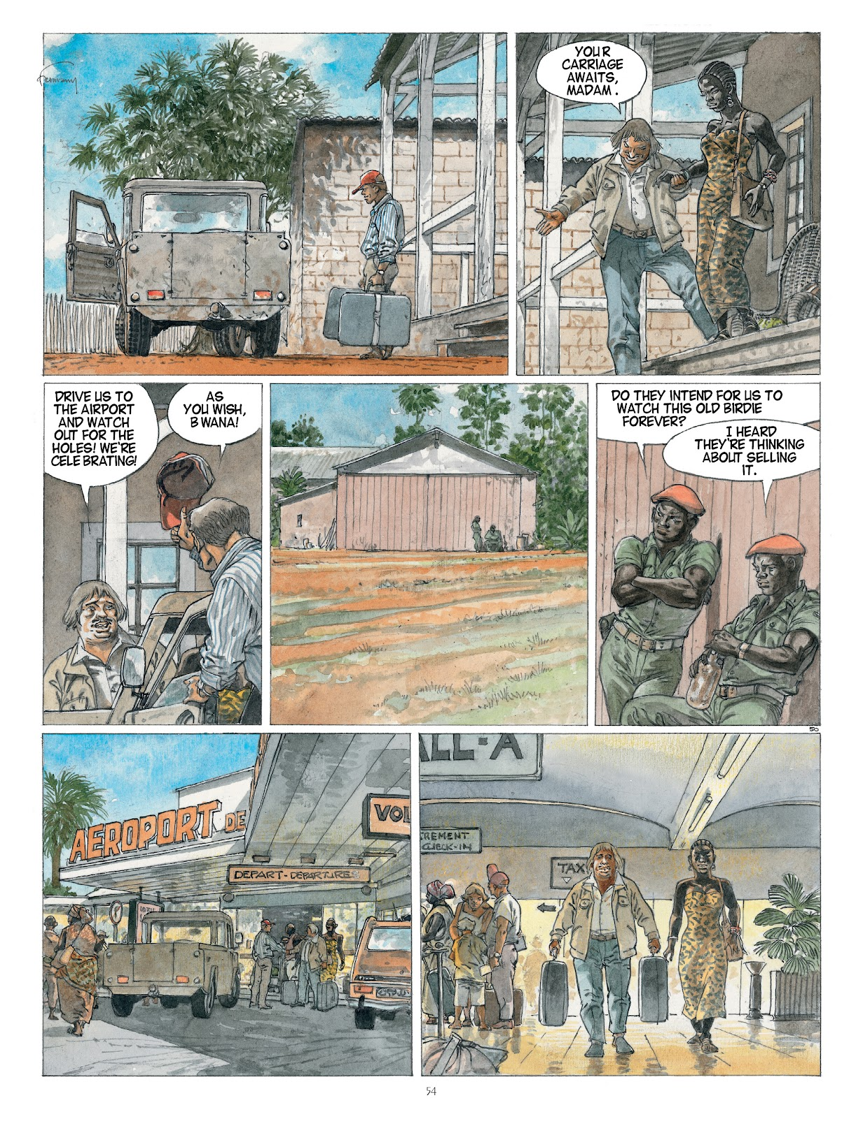 Read online Afrika comic -  Issue # TPB - 54