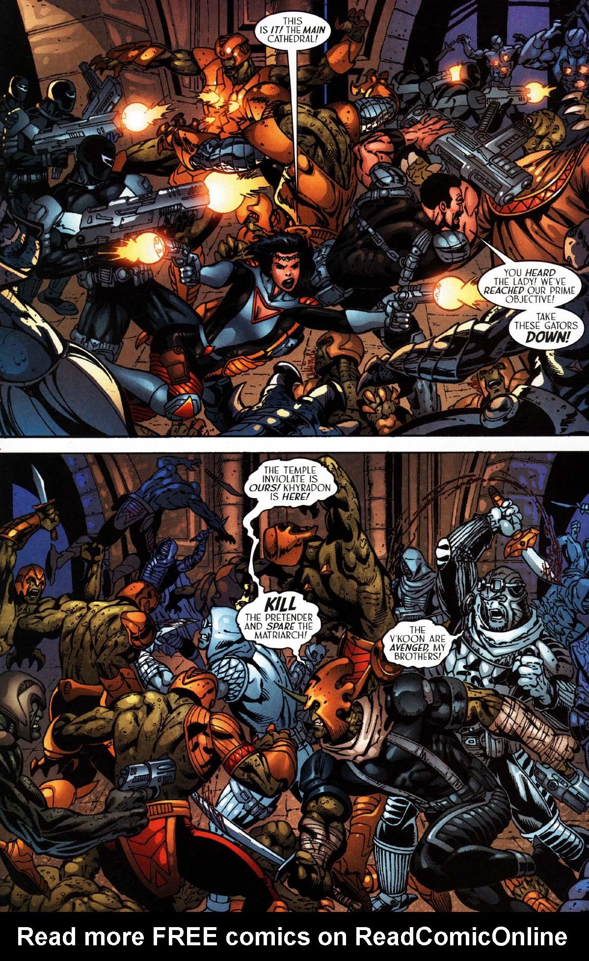 Read online Sigil (2000) comic -  Issue #27 - 22