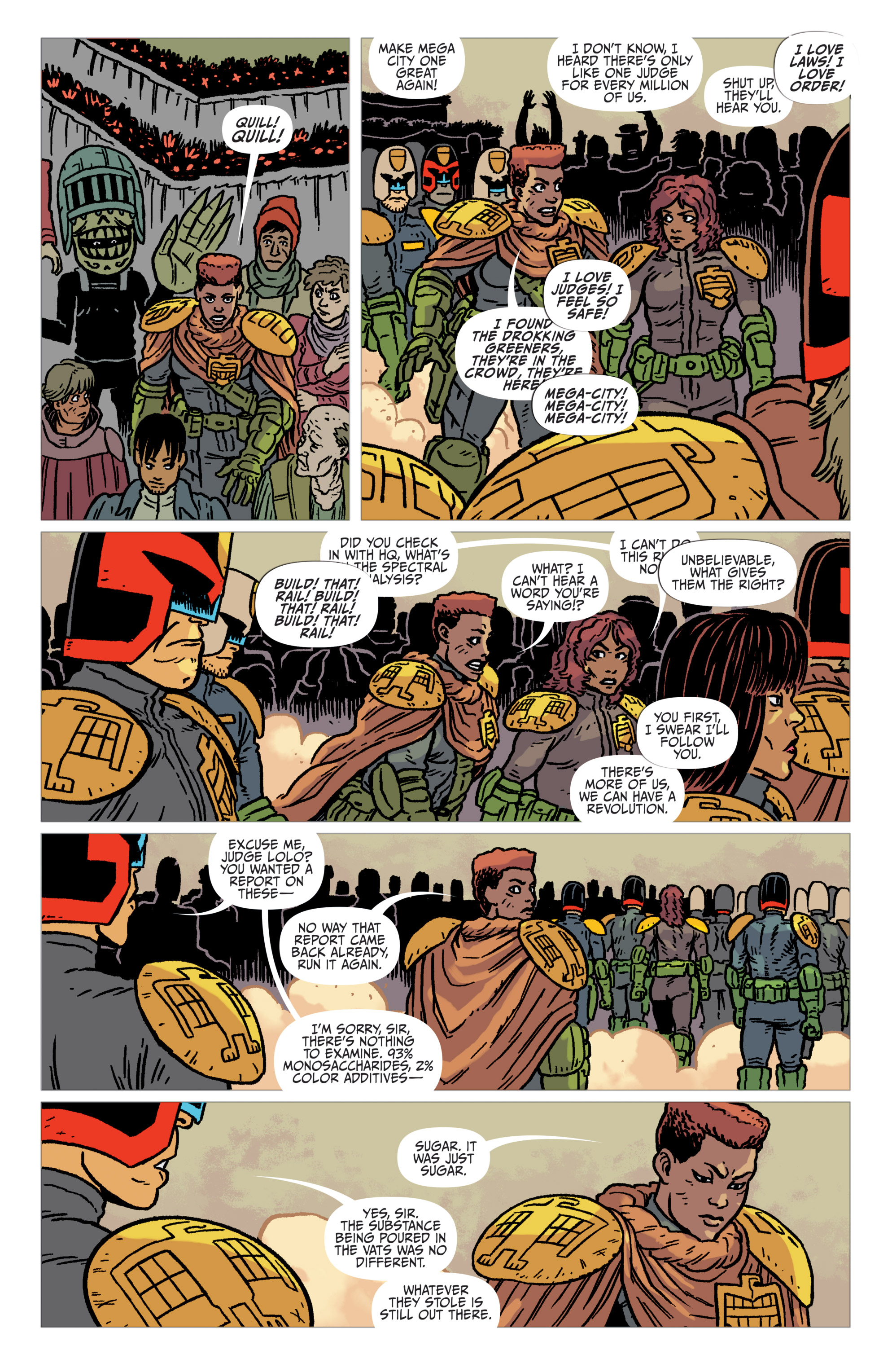 Read online Judge Dredd: The Blessed Earth comic -  Issue #2 - 17