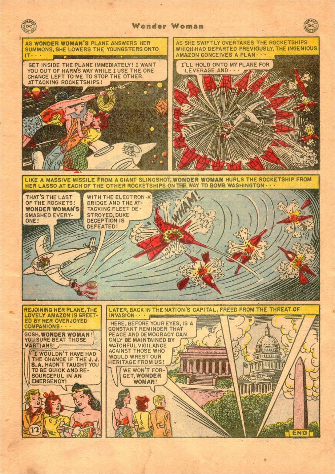 Read online Wonder Woman (1942) comic -  Issue #47 - 47