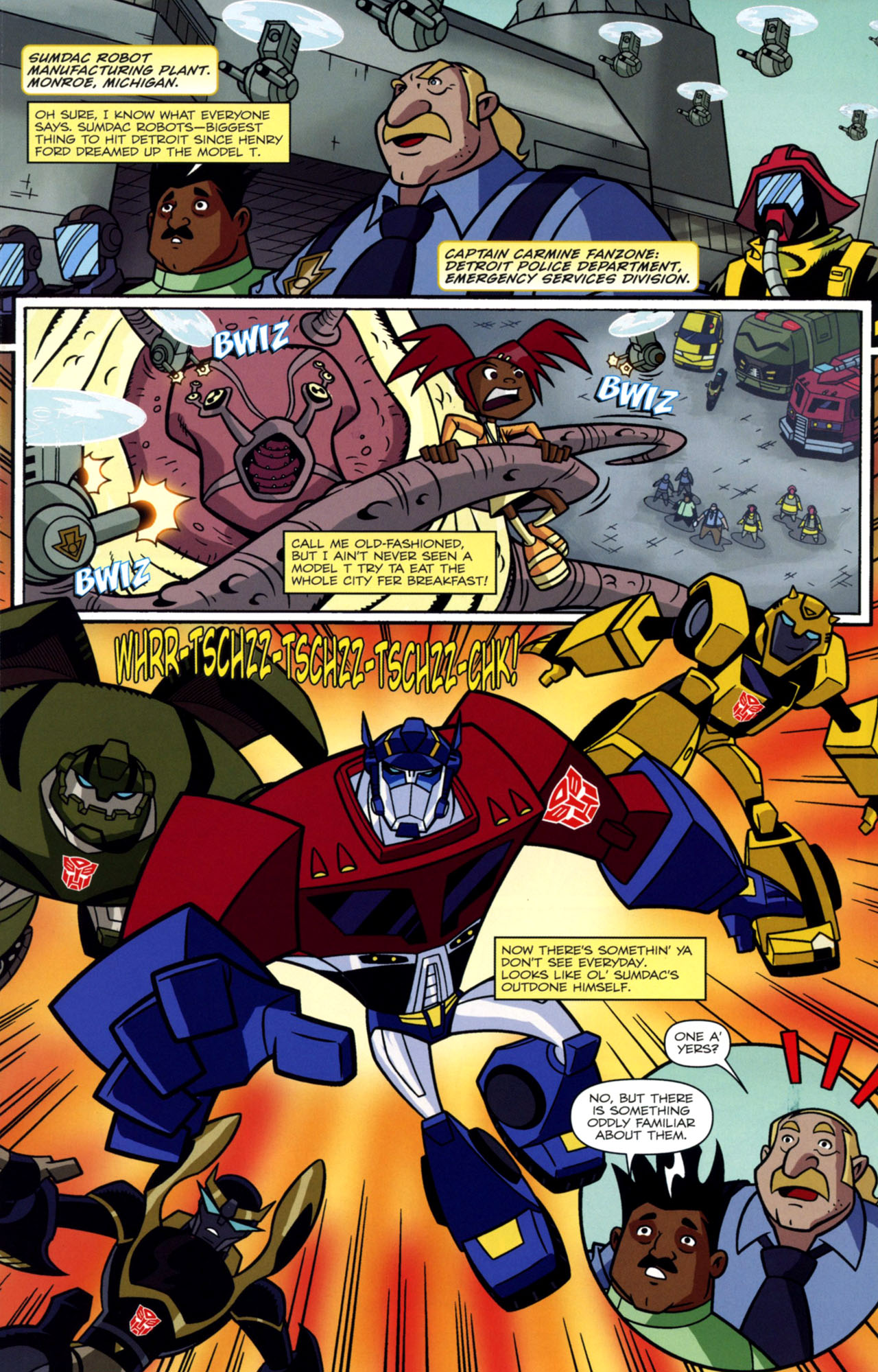 Read online Transformers Animated: The Arrival comic -  Issue #1 - 14