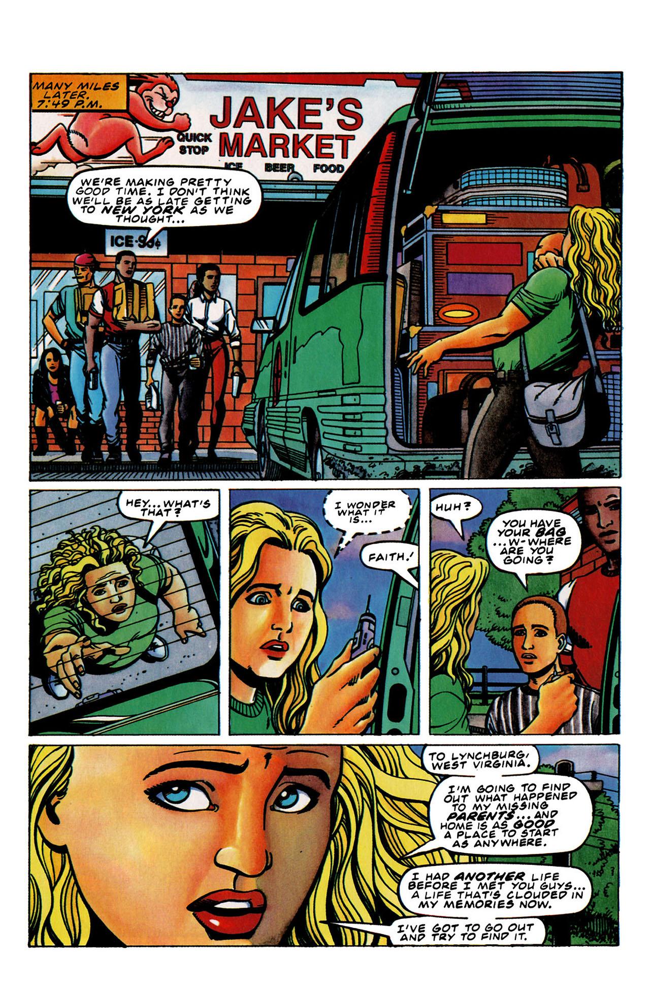 Read online Harbinger (1992) comic -  Issue #33 - 19