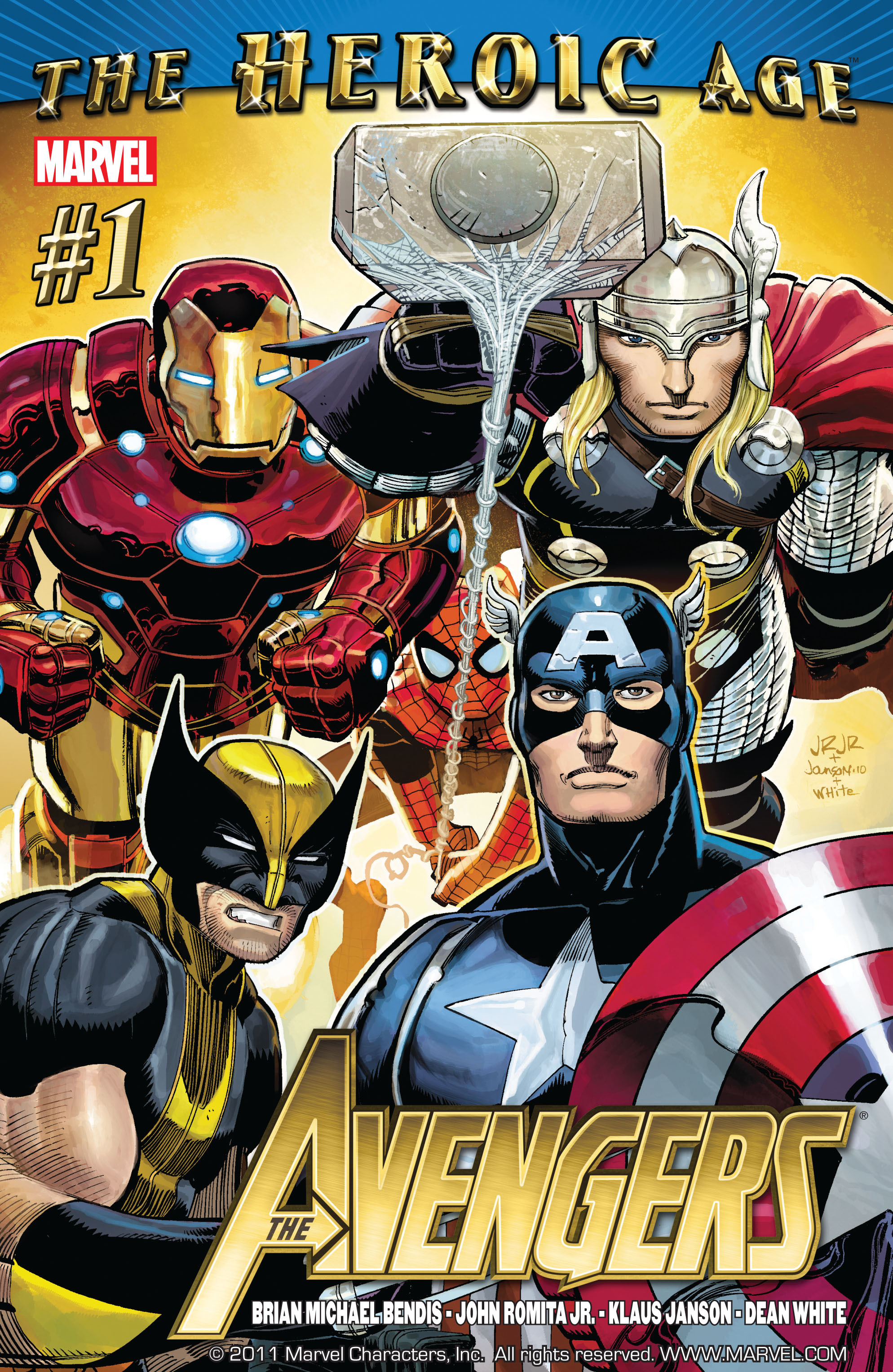 Read online Avengers (2010) comic -  Issue #1 - 1