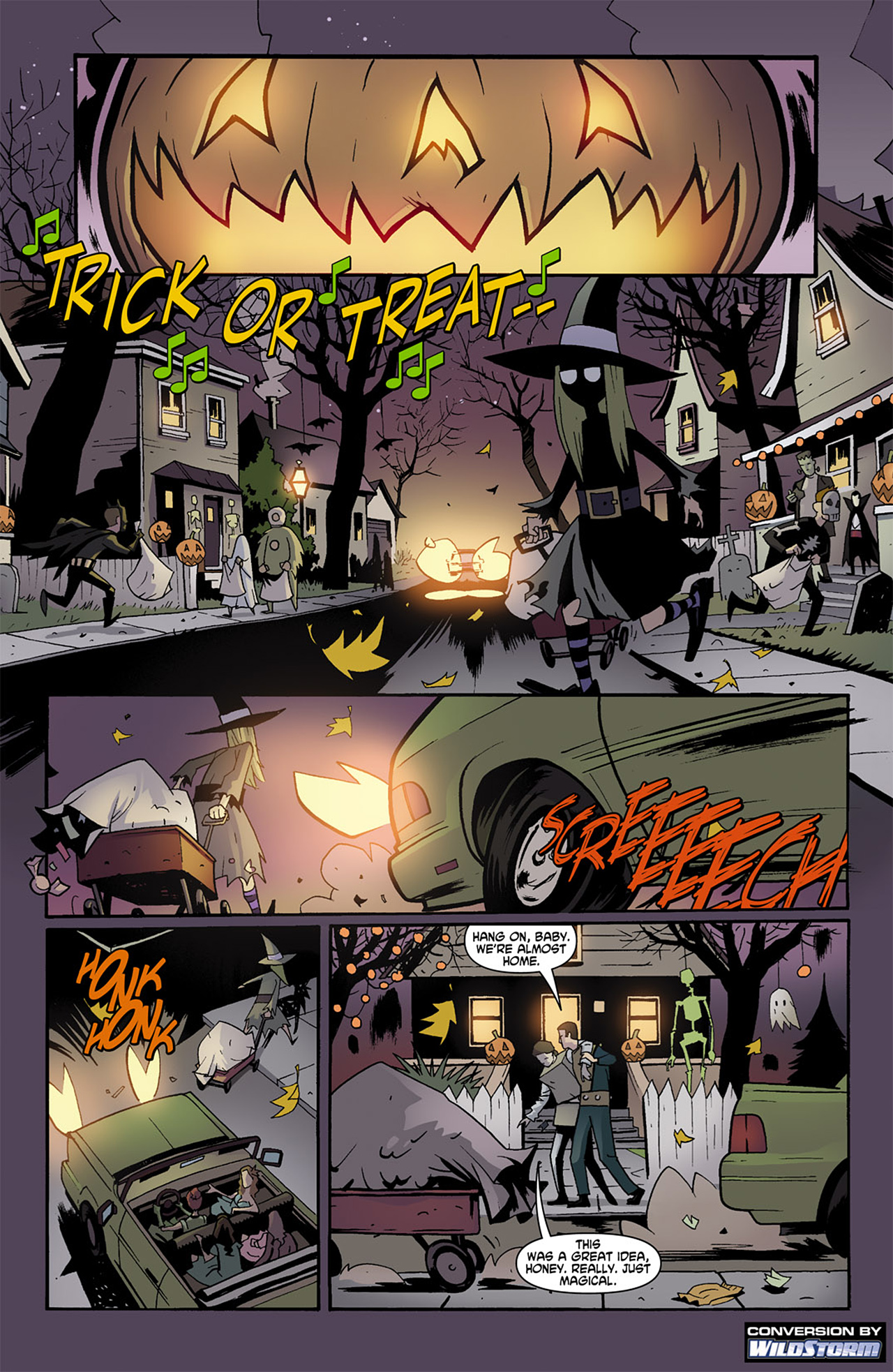 Read online Trick 'r Treat comic -  Issue #1 - 2