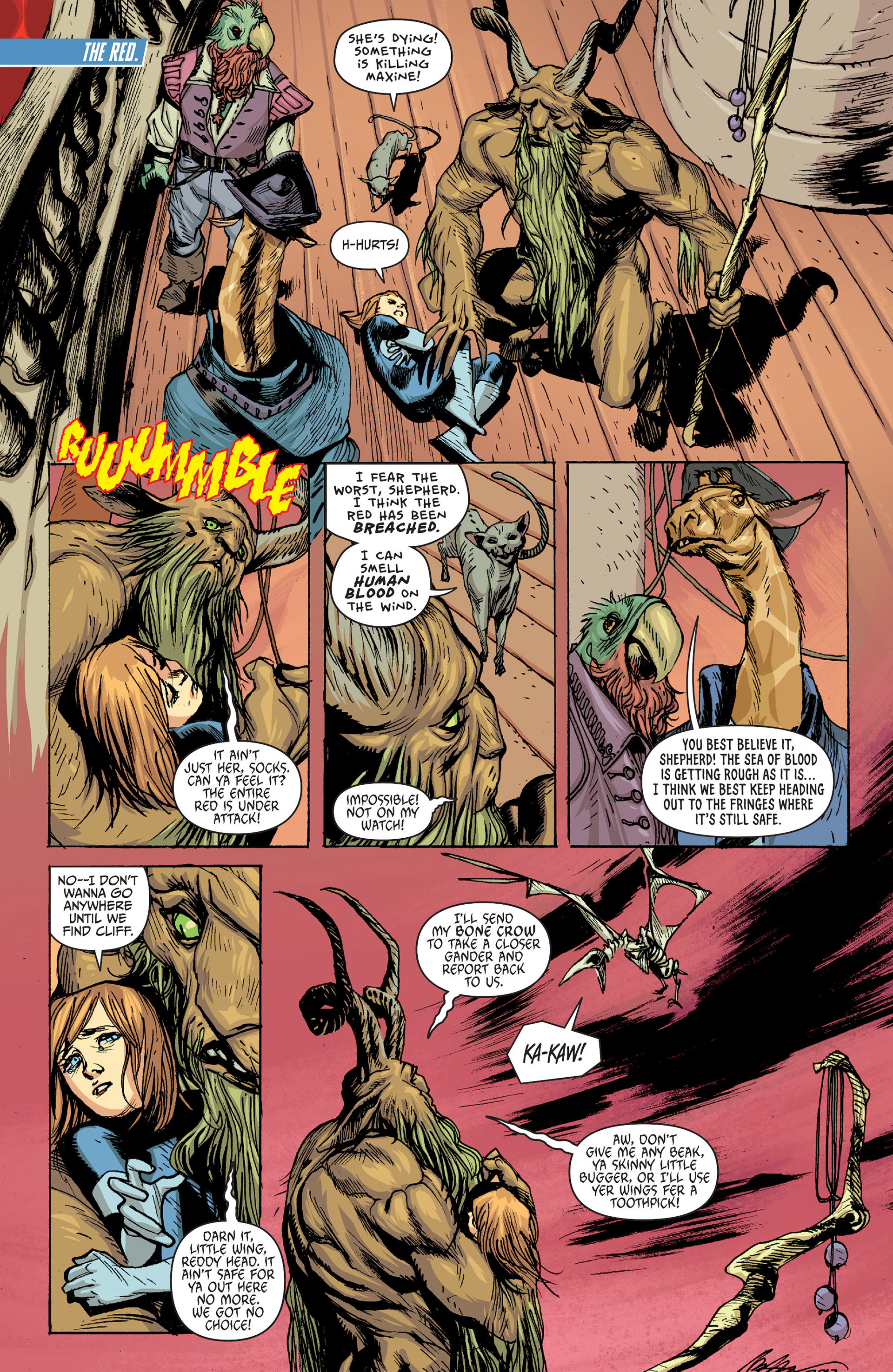 Read online Animal Man (2011) comic -  Issue #24 - 3