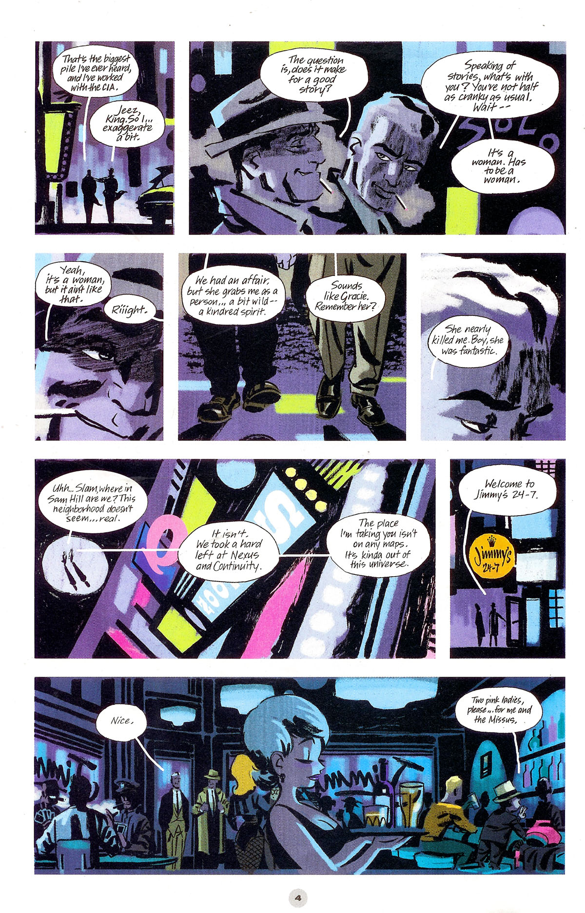 Read online Solo (2004) comic -  Issue #5 - 5