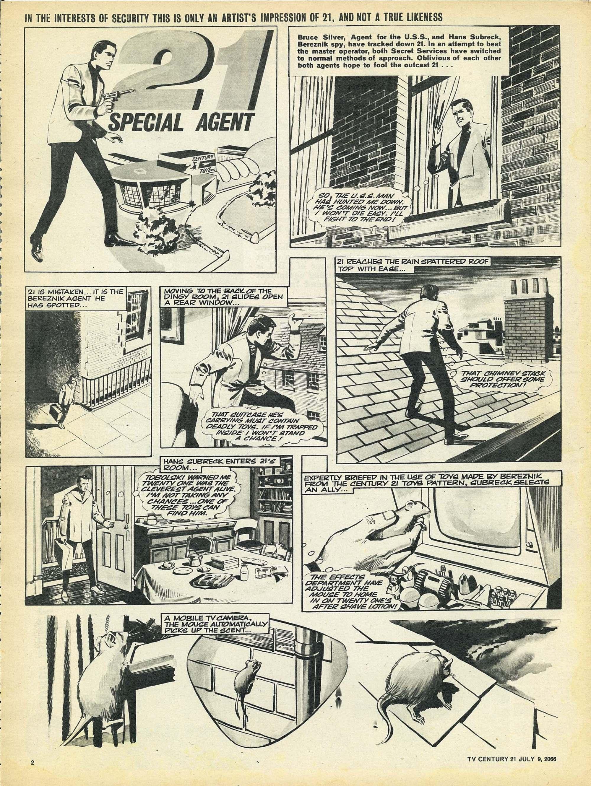 Read online TV Century 21 (TV 21) comic -  Issue #77 - 2