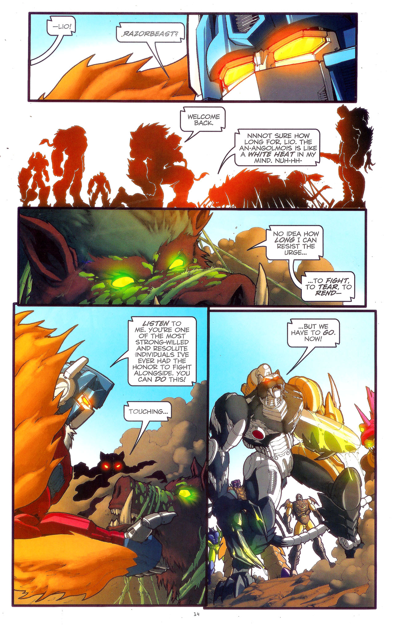 Read online Transformers: Beast Wars: The Ascending comic -  Issue #3 - 17