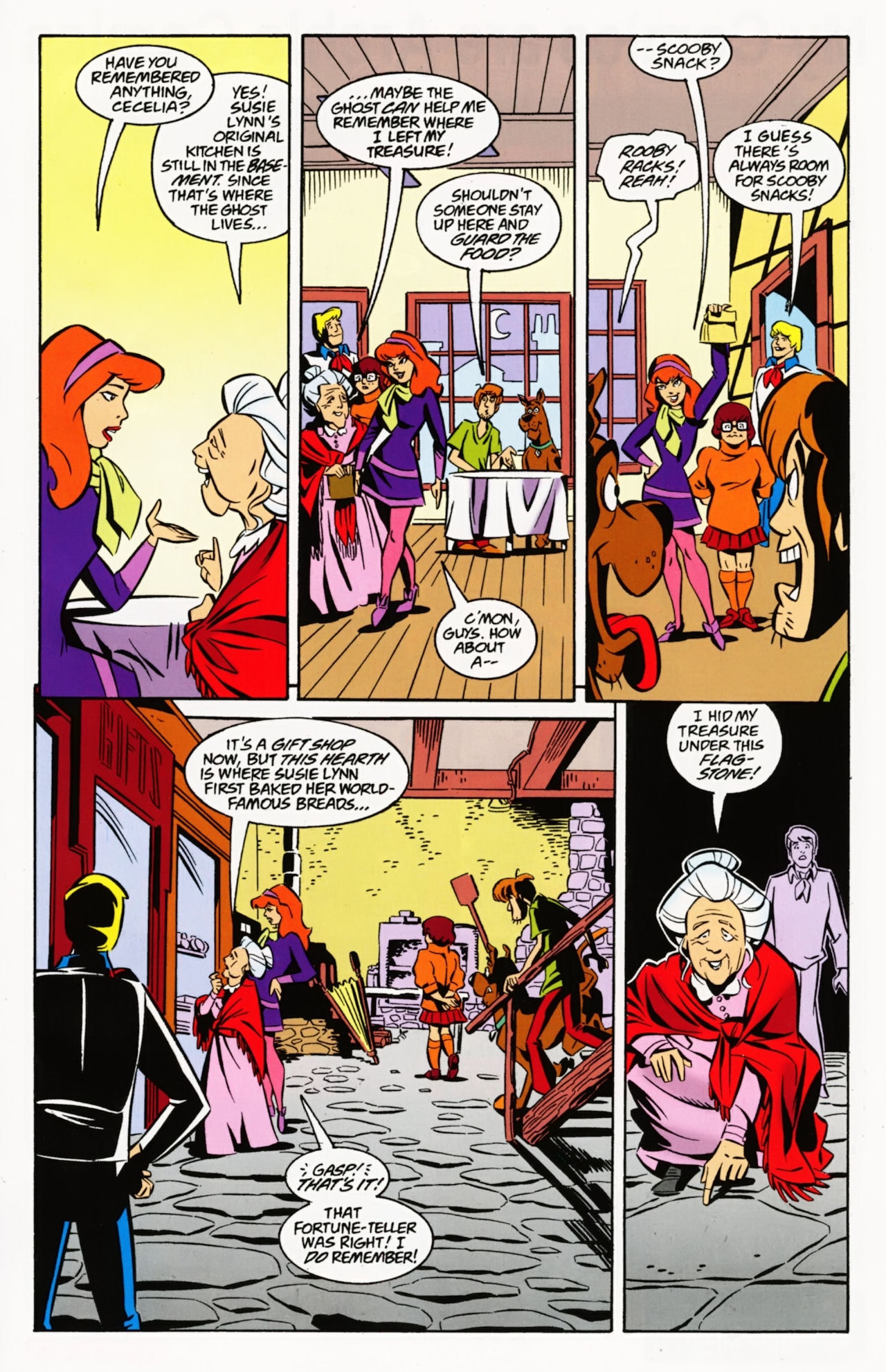 Read online Scooby-Doo: Where Are You? comic -  Issue #8 - 23