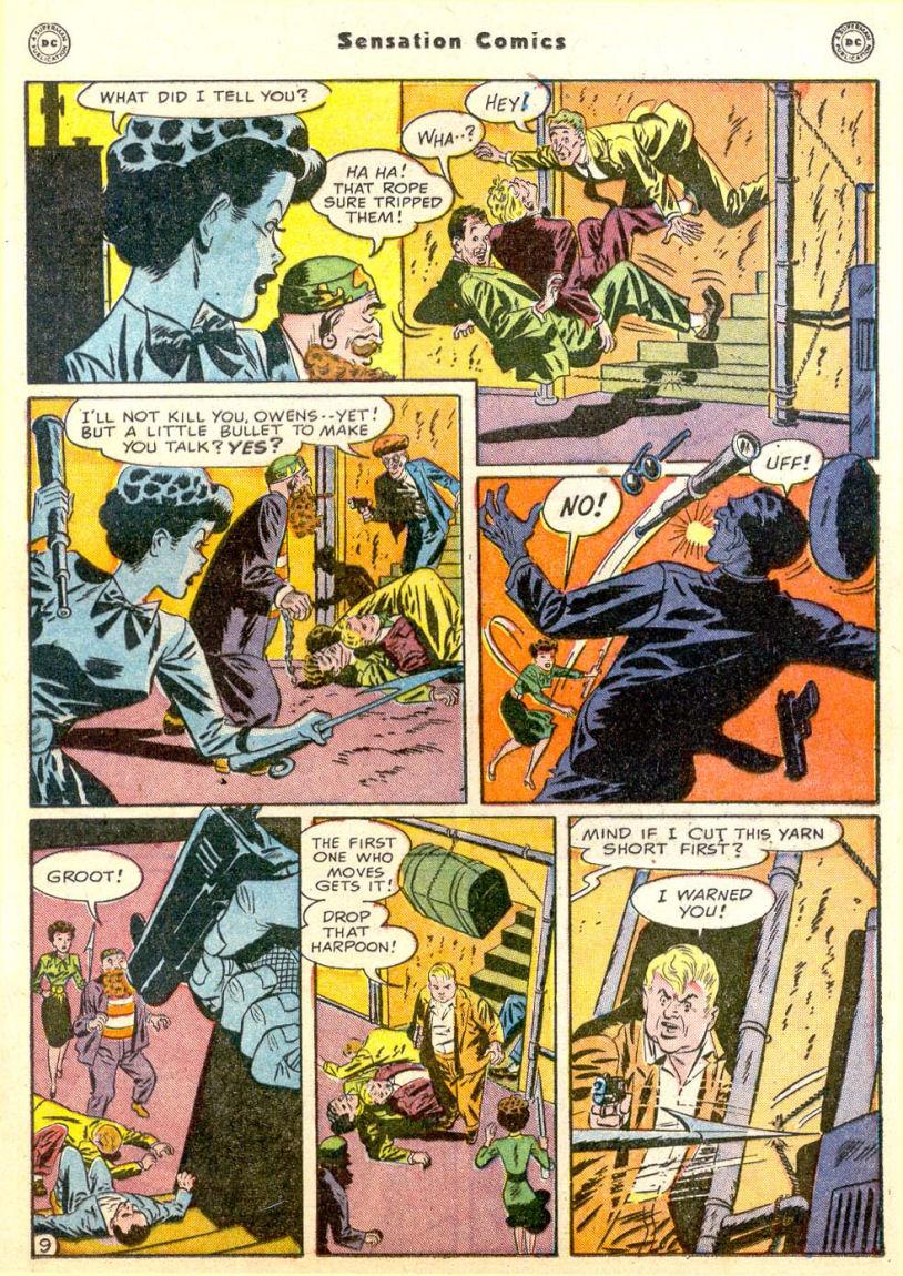 Read online Sensation (Mystery) Comics comic -  Issue #85 - 24