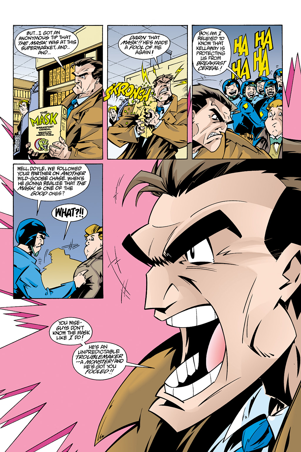 Read online Adventures Of The Mask Omnibus comic -  Issue #Adventures Of The Mask Omnibus Full - 331