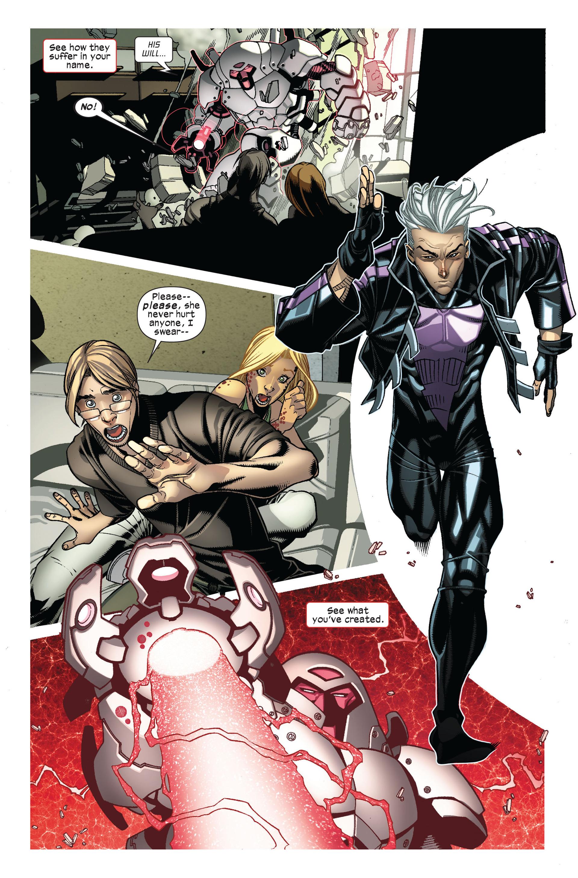 Read online Ultimate Comics X-Men comic -  Issue #7 - 4