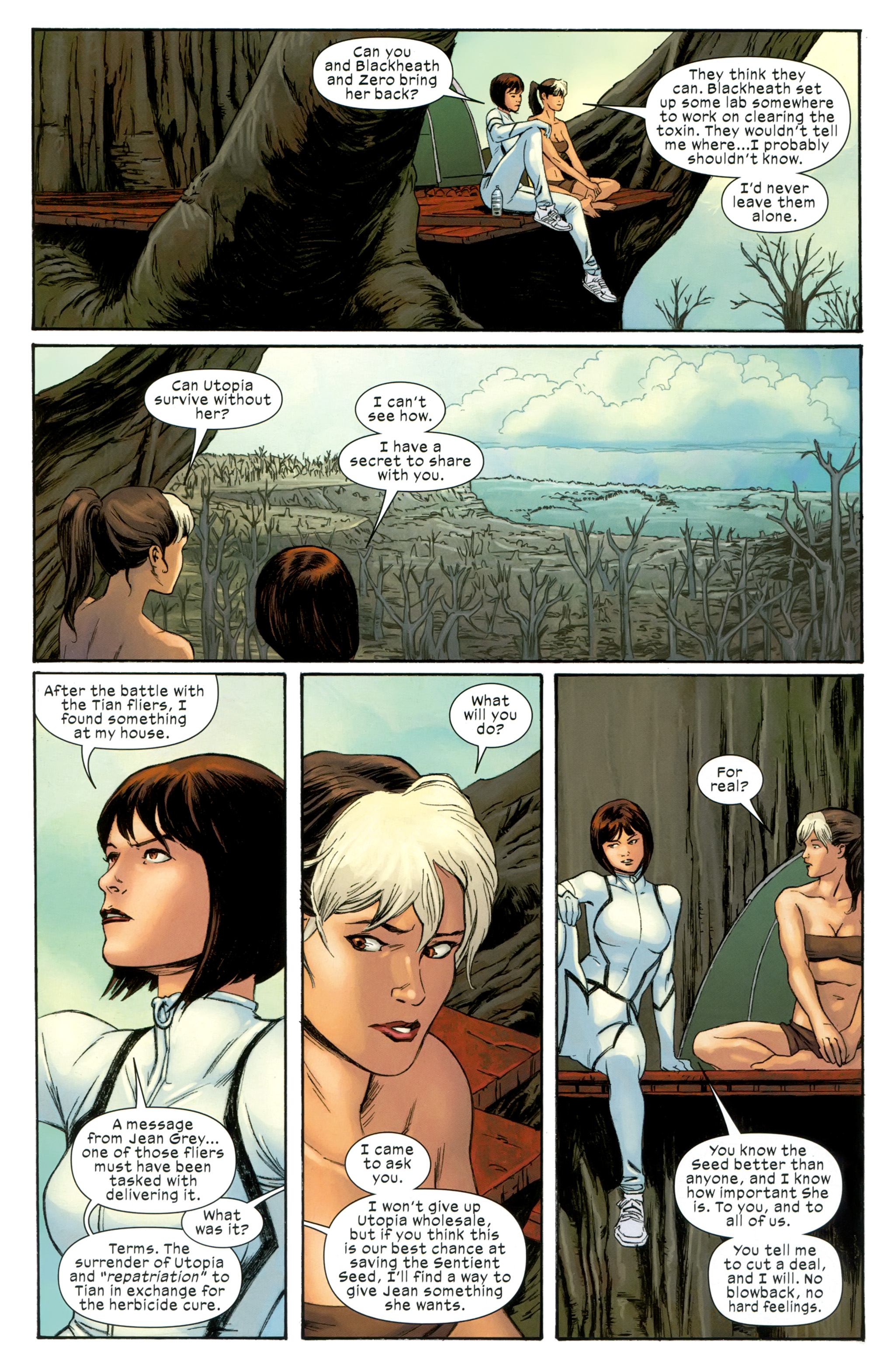 Read online Ultimate Comics X-Men comic -  Issue #31 - 11