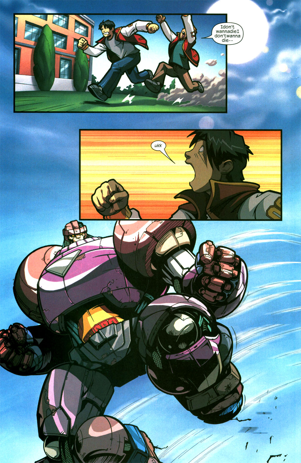 Read online Sentinel comic -  Issue #6 - 7