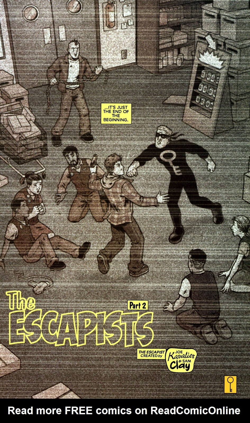 Read online The Escapists comic -  Issue #2 - 26