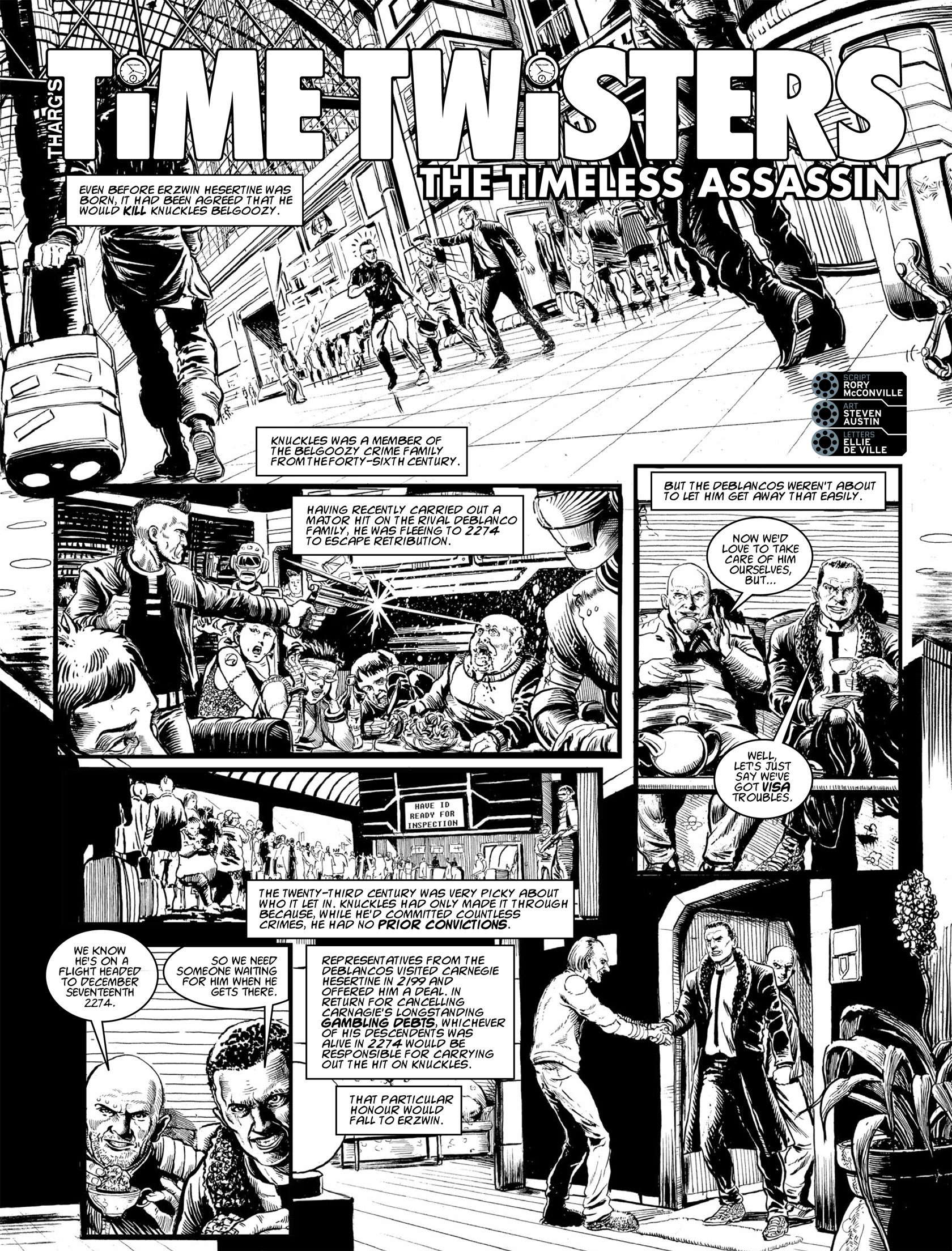 Read online 2000 AD comic -  Issue #1982 - 20