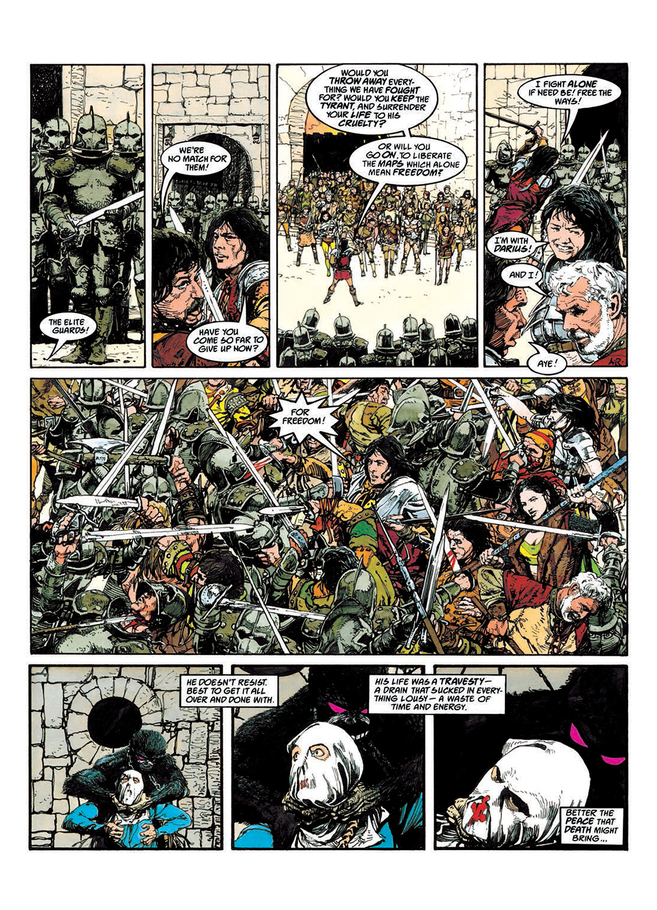 Read online Mazeworld comic -  Issue # TPB - 54