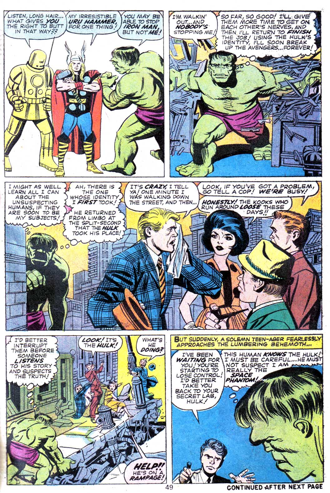 Giant-Size Avengers (1974) issue 3 - Page 51