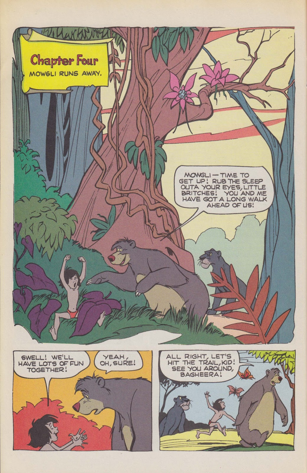 Read online The Jungle Book comic -  Issue # Full - 38