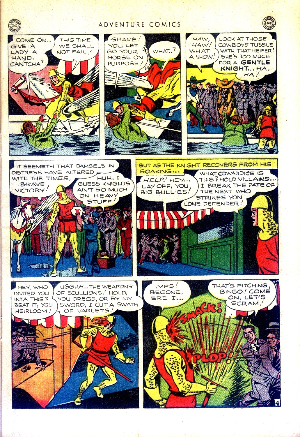 Read online Adventure Comics (1938) comic -  Issue #97 - 17