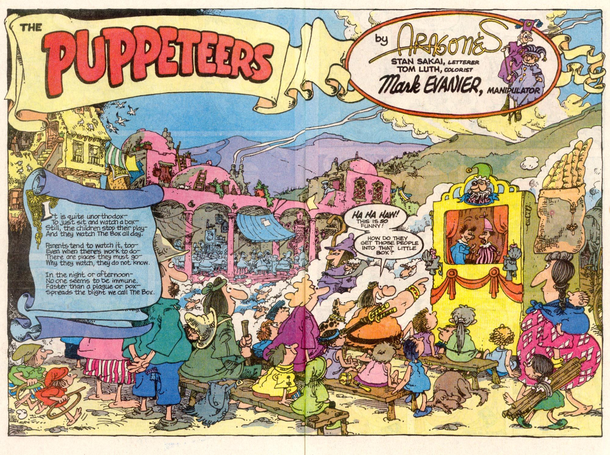 Read online Sergio Aragonés Groo the Wanderer comic -  Issue #84 - 3