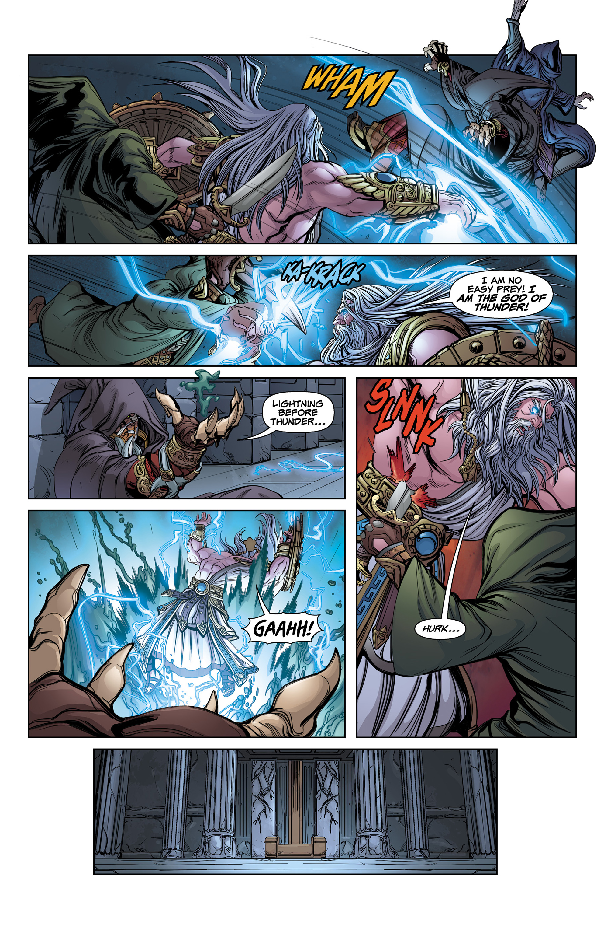 Read online SMITE: The Pantheon War comic -  Issue #1 - 17