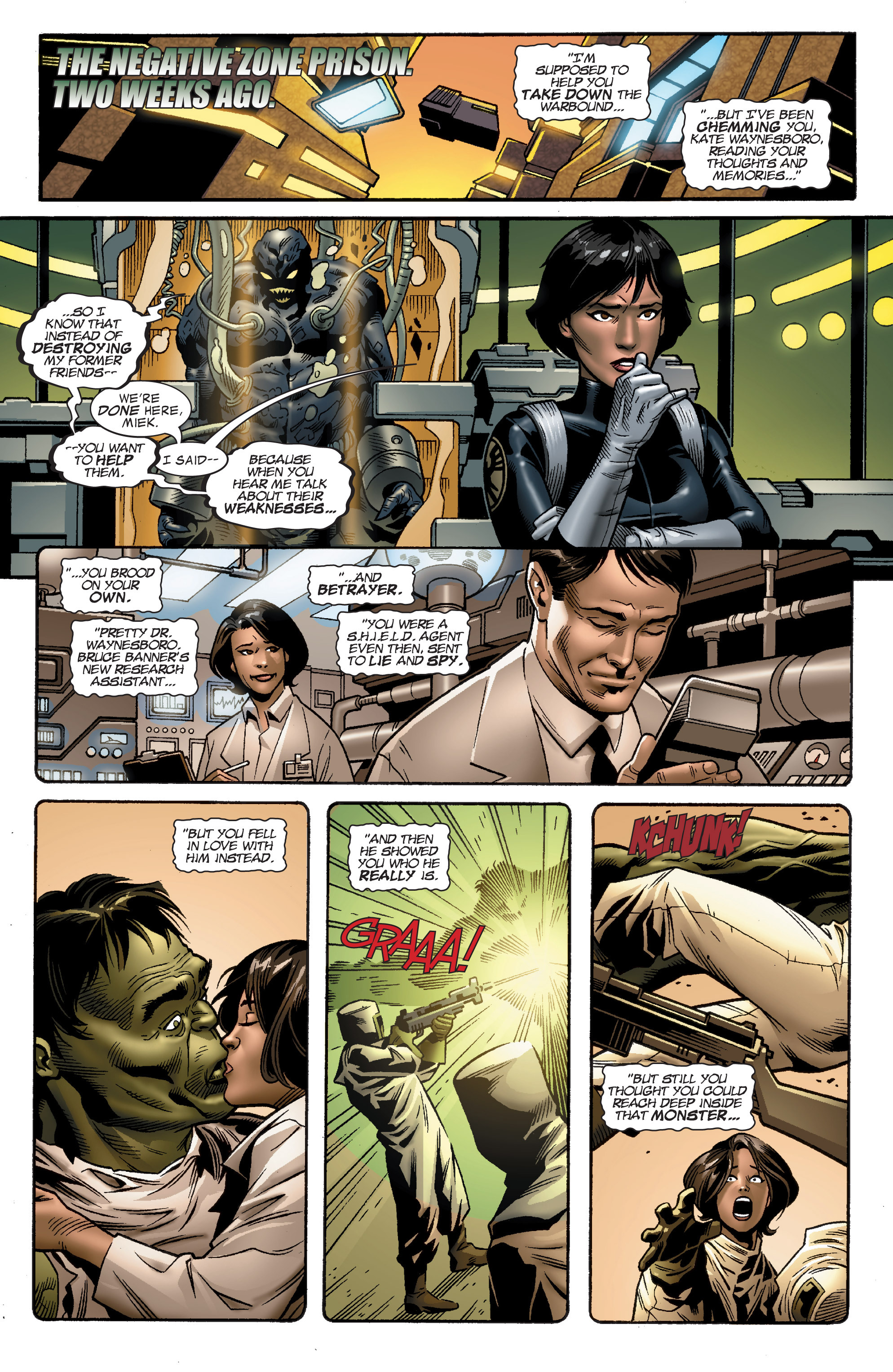 Read online World War Hulk Aftersmash: Warbound, Vol. 1 comic -  Issue #5 - 3