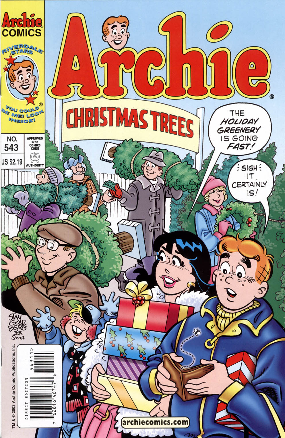 Read online Archie (1960) comic -  Issue #543 - 1