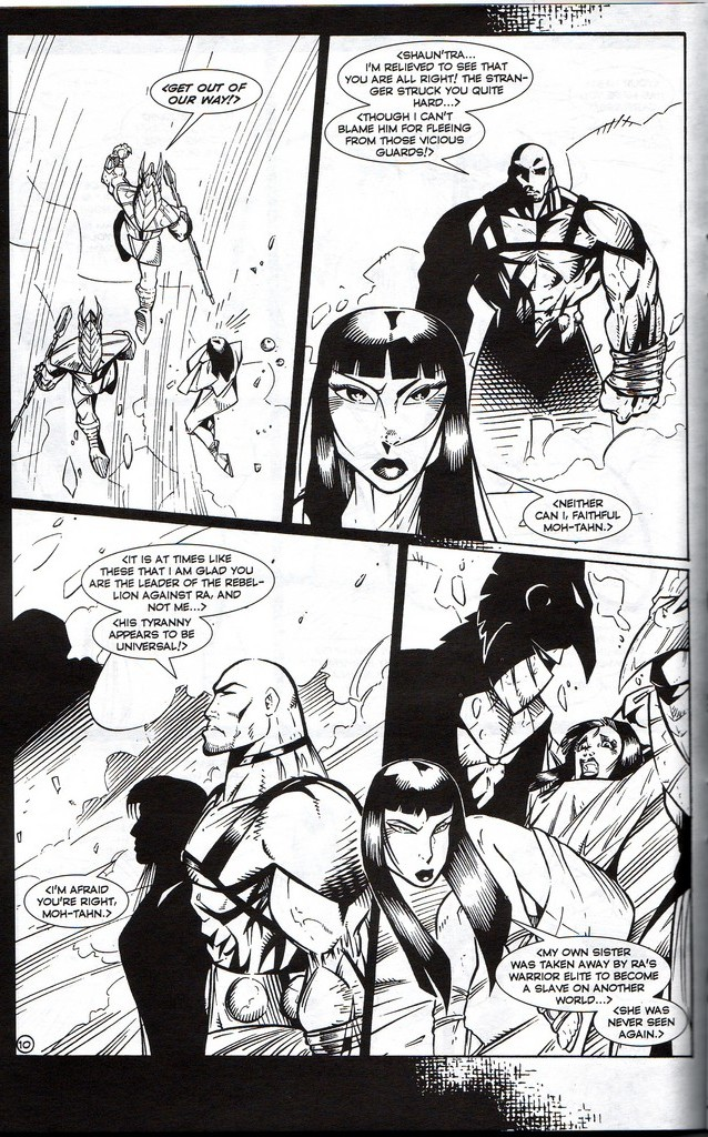 Read online Stargate: One Nation Under Ra comic -  Issue # Full - 12
