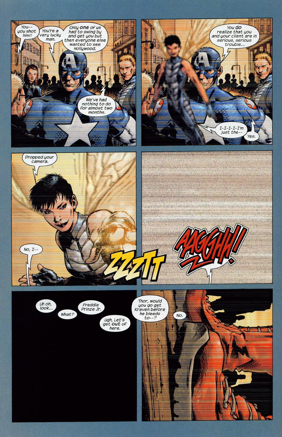 Read online Ultimate Six comic -  Issue #1 - 21