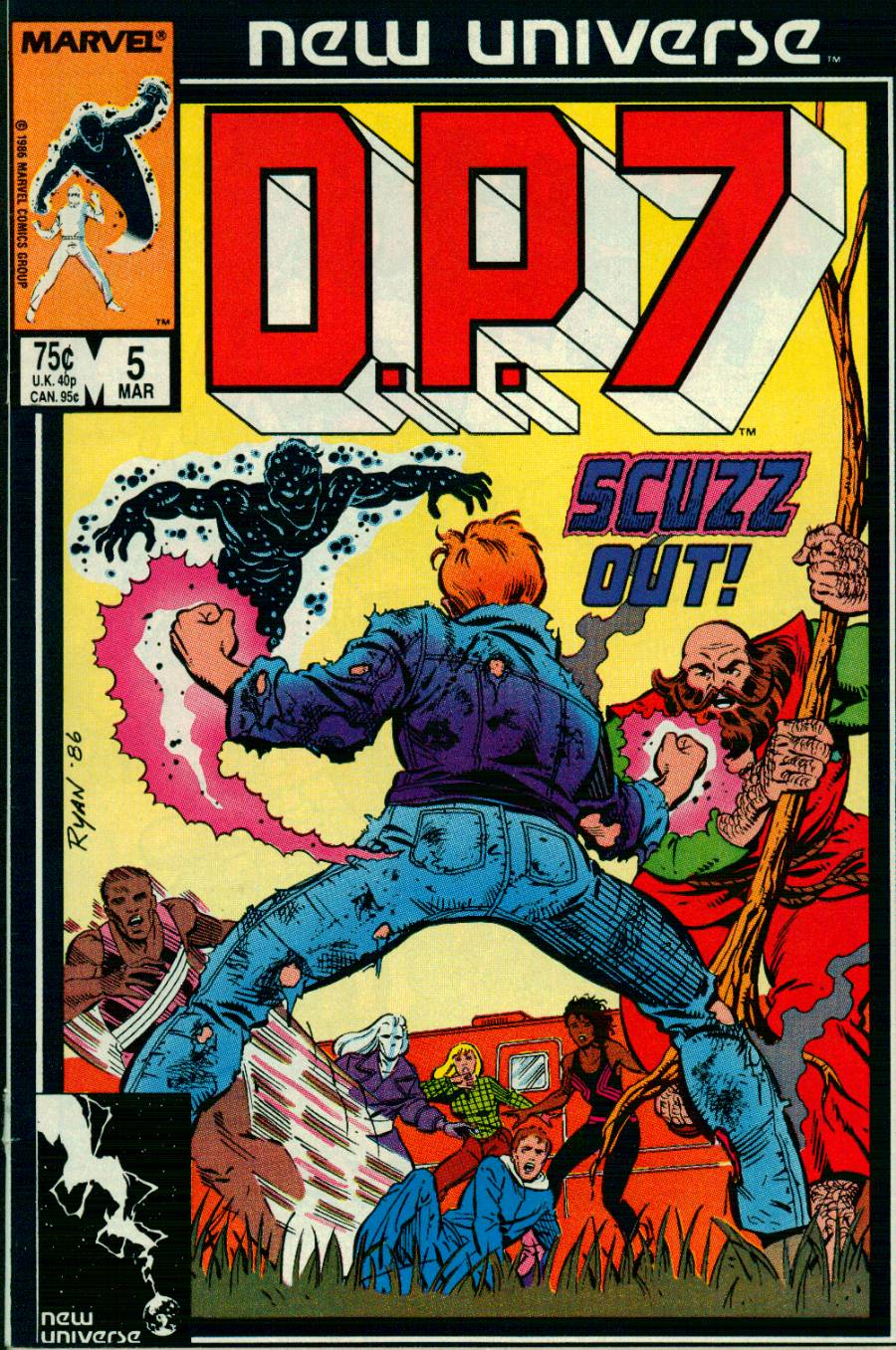 Read online DP7 comic -  Issue #5 - 1