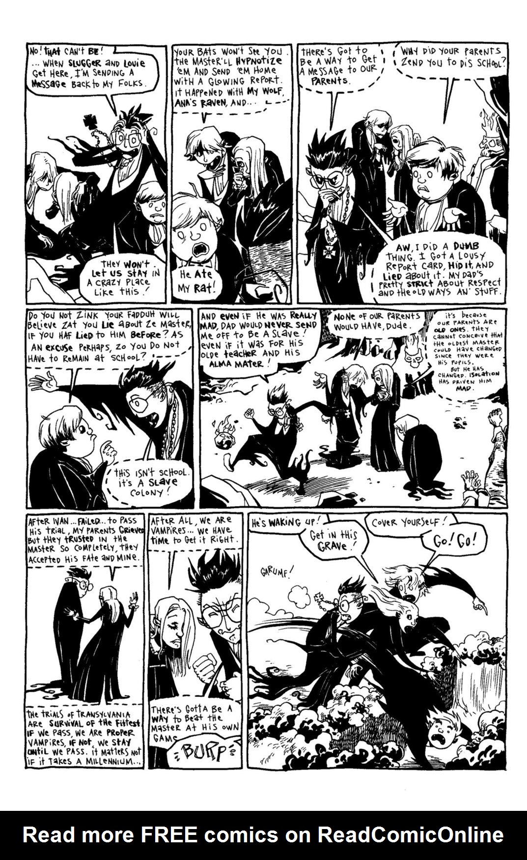 Read online Scary Godmother Comic Book Stories comic -  Issue # TPB - 192